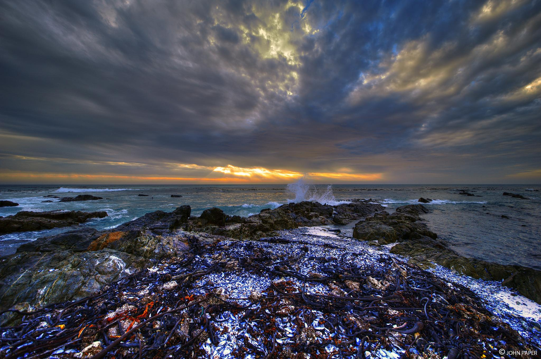 Photo in Sea and Sand #sunset #south africa