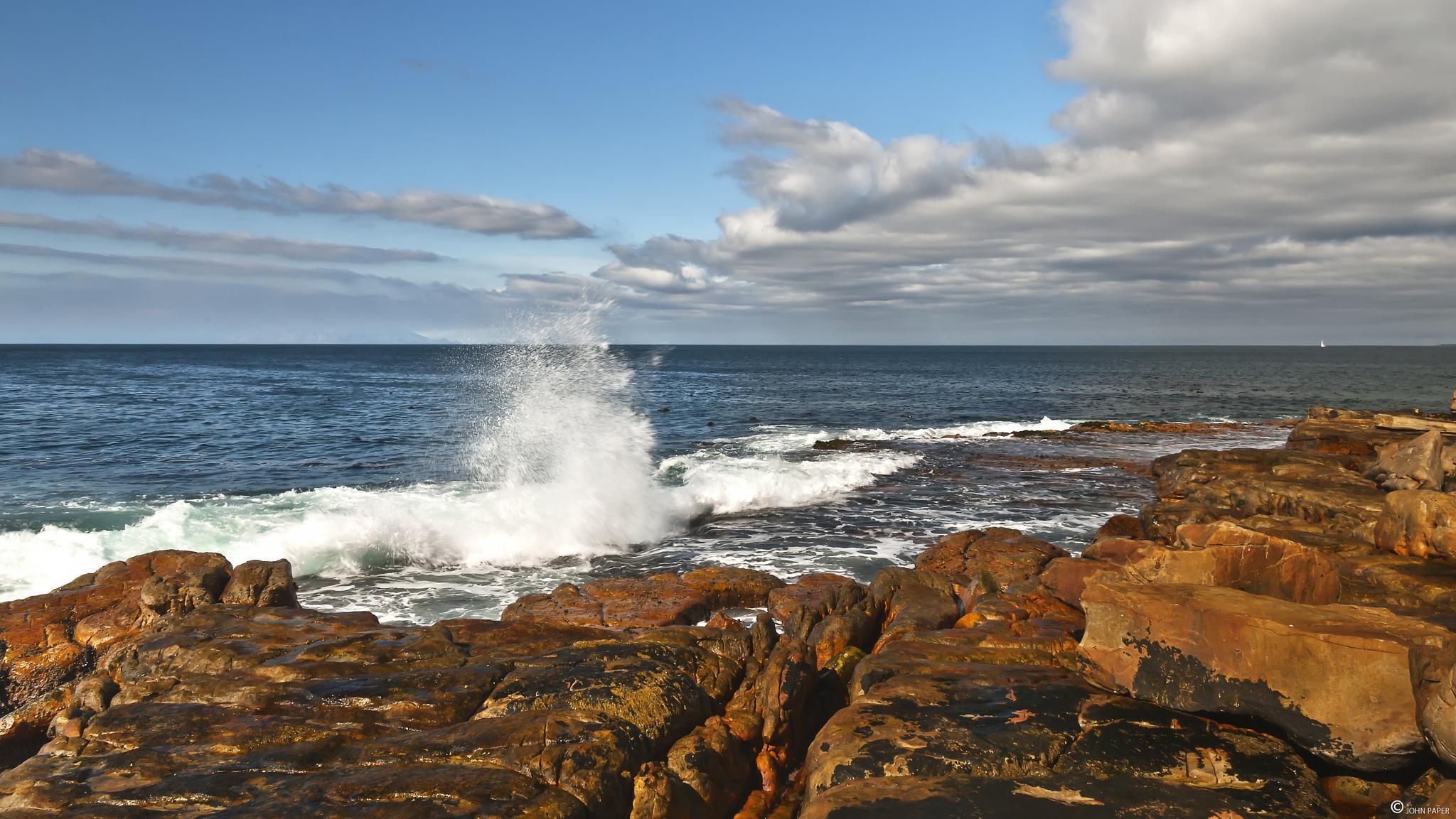 Photo in Sea and Sand #beach #rocks #kalk bay #false bay #cape peninsula #south africa