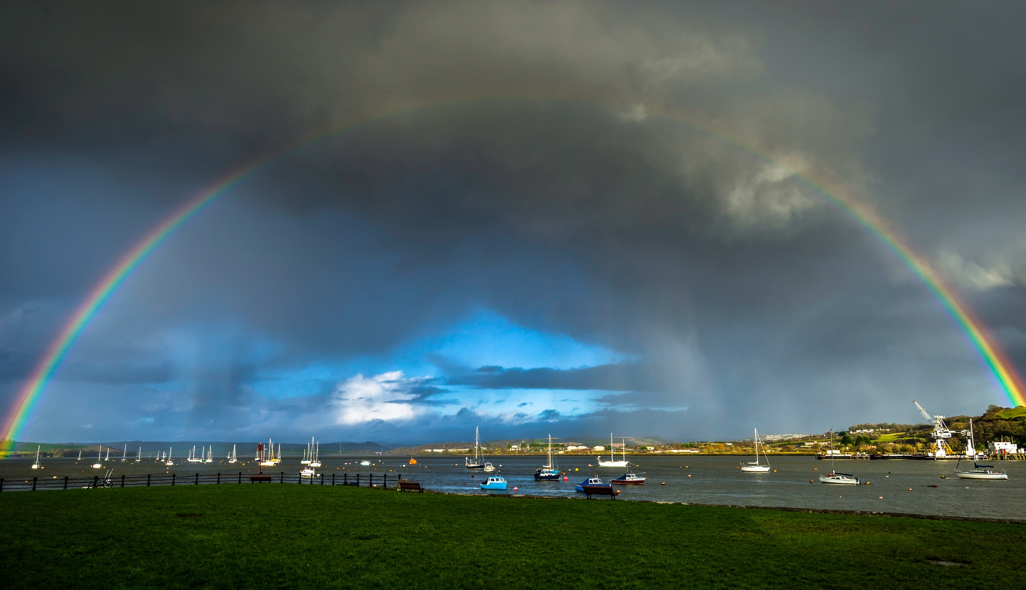 Rainbow estuary by phillip ticehurst