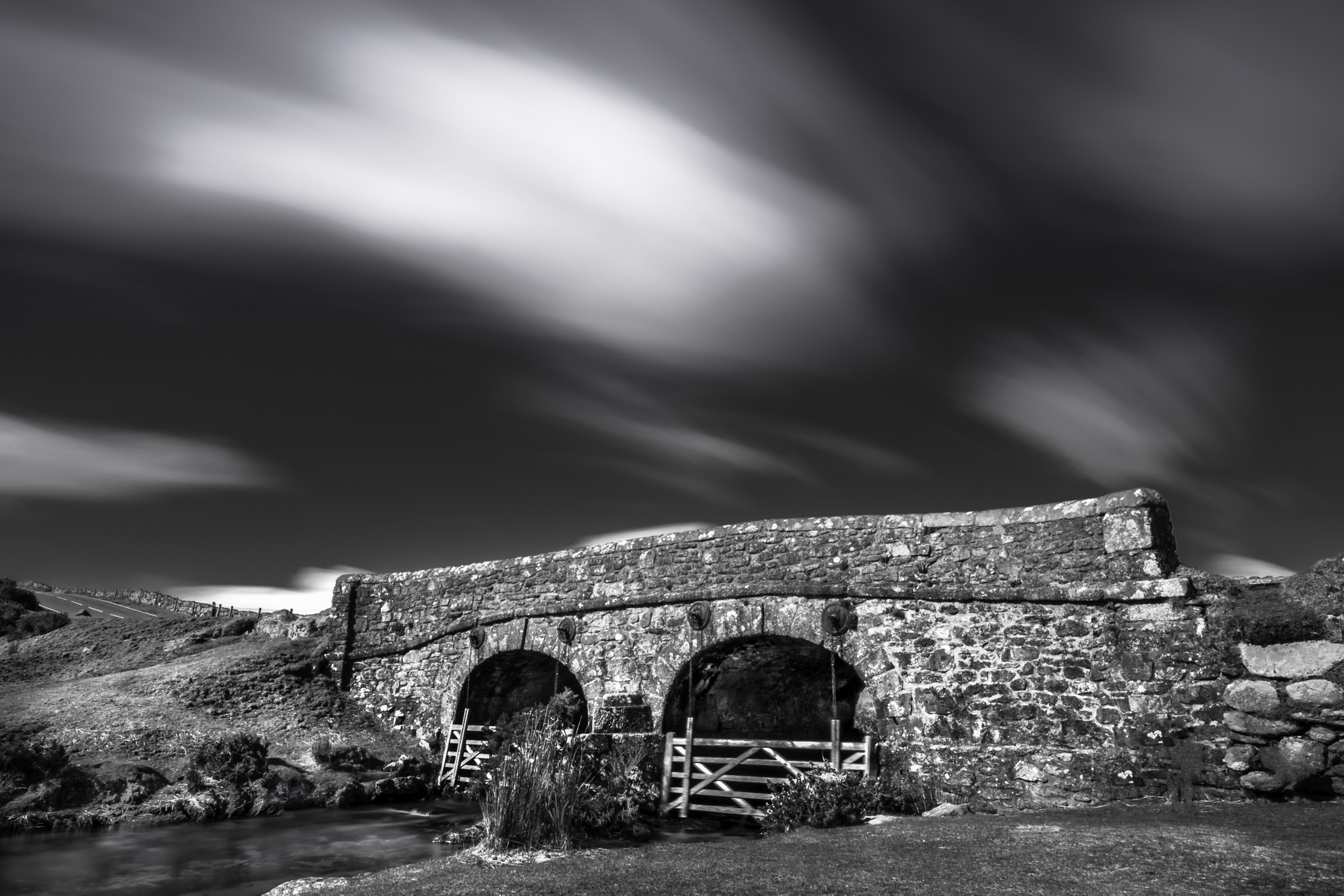 dartmoor bridge by phillip ticehurst