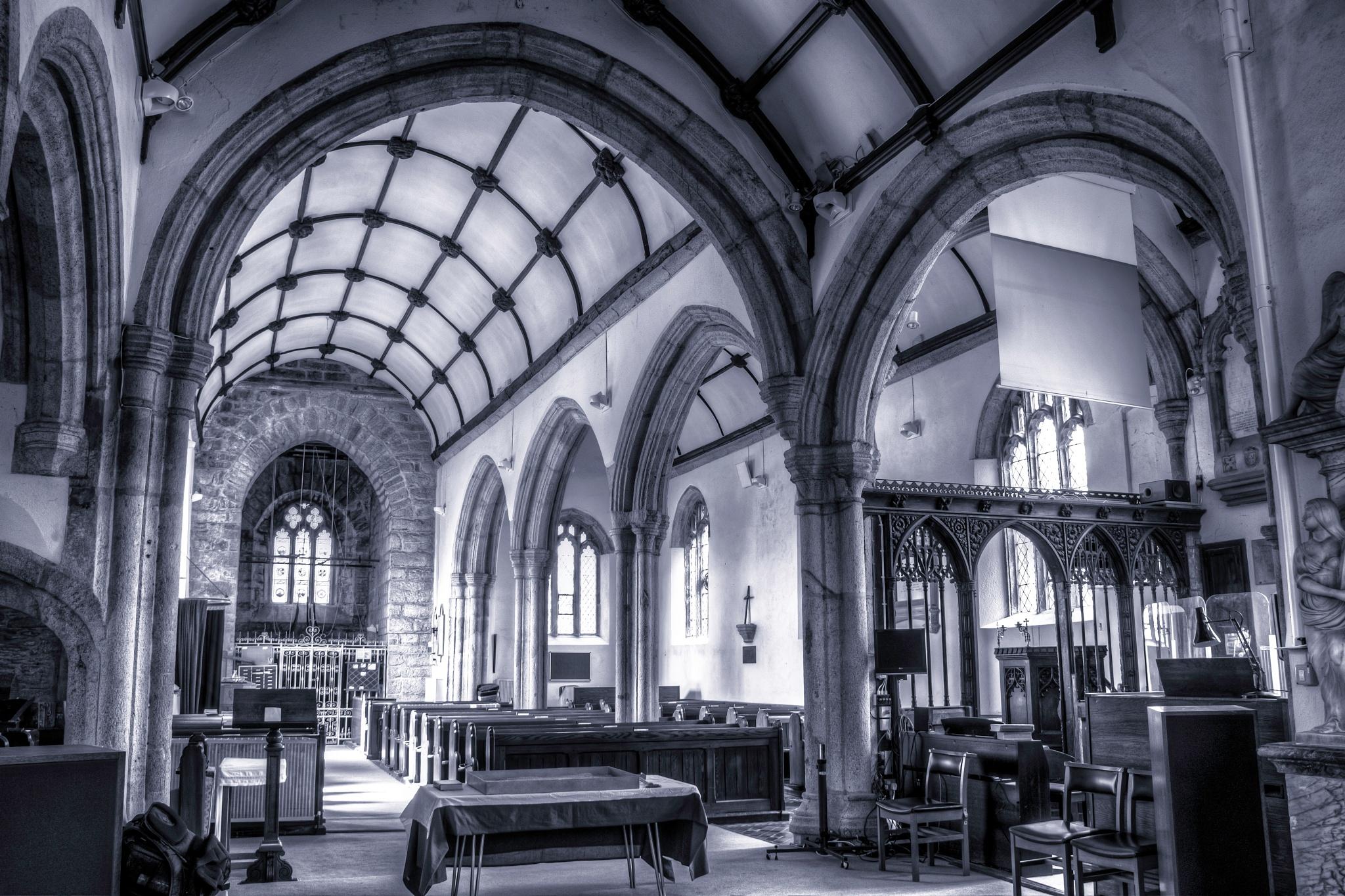 church arch by phillip ticehurst