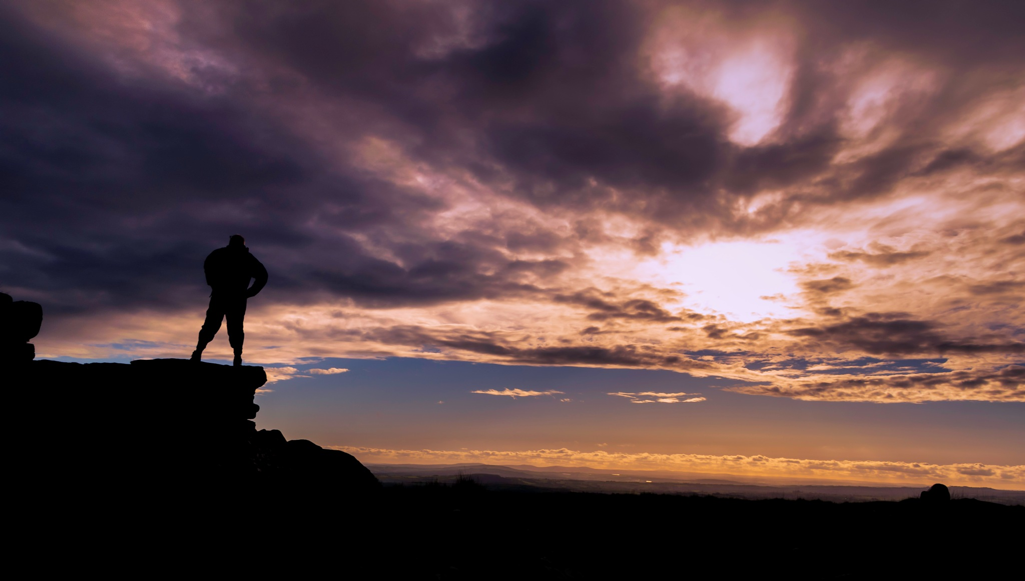 sunset view by phillip ticehurst