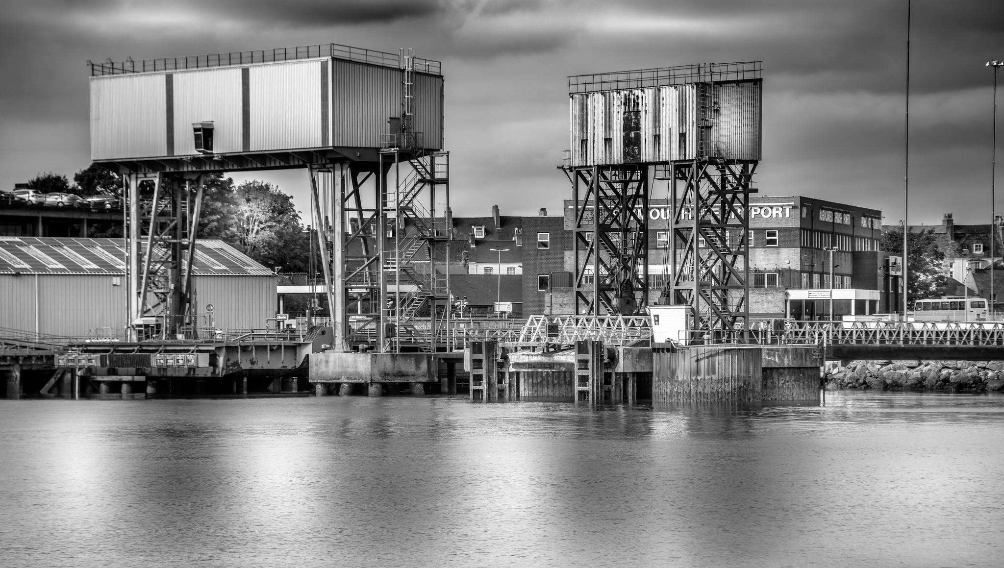 millbay docks ,plymouth by phillip ticehurst