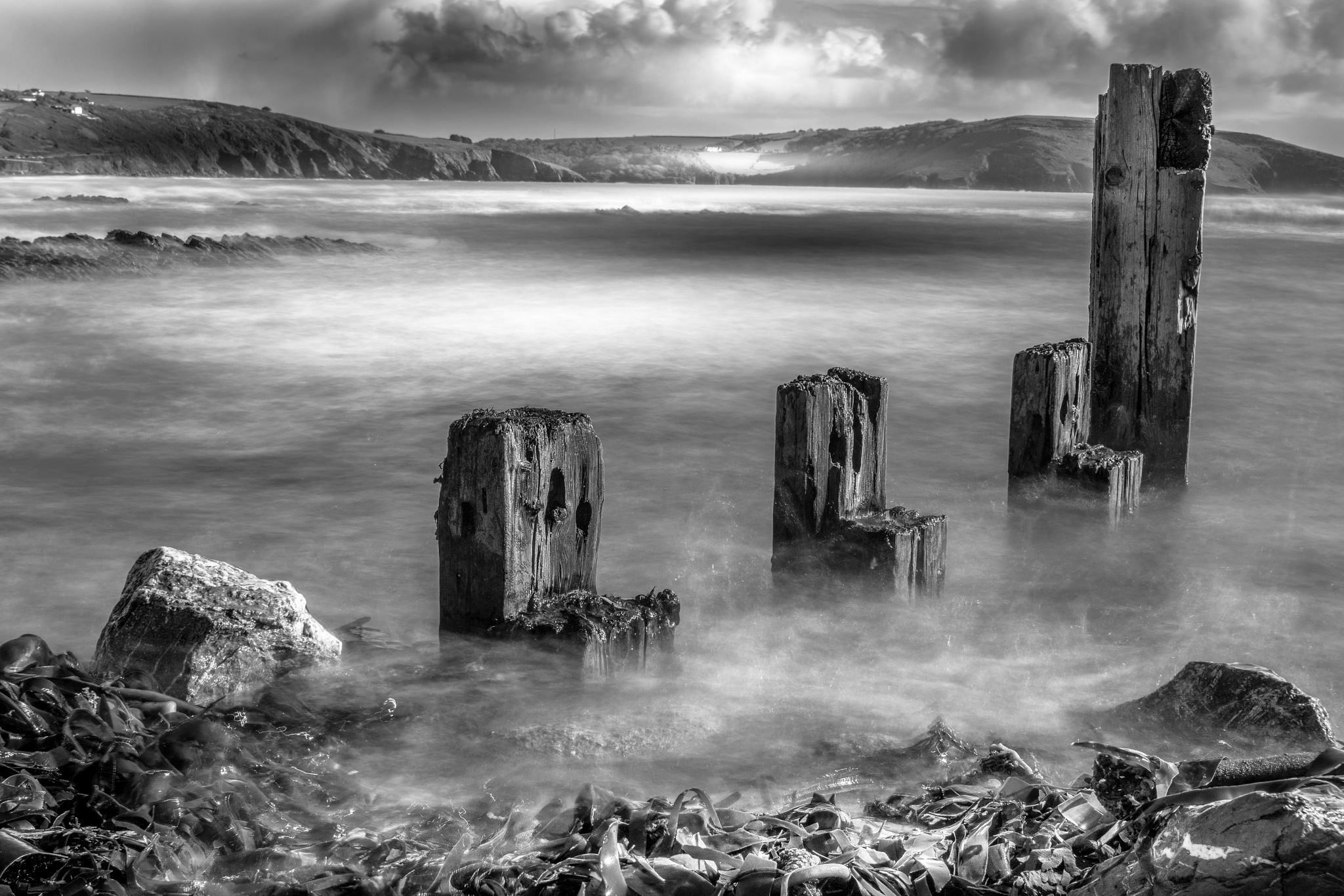 old jetty by phillip ticehurst
