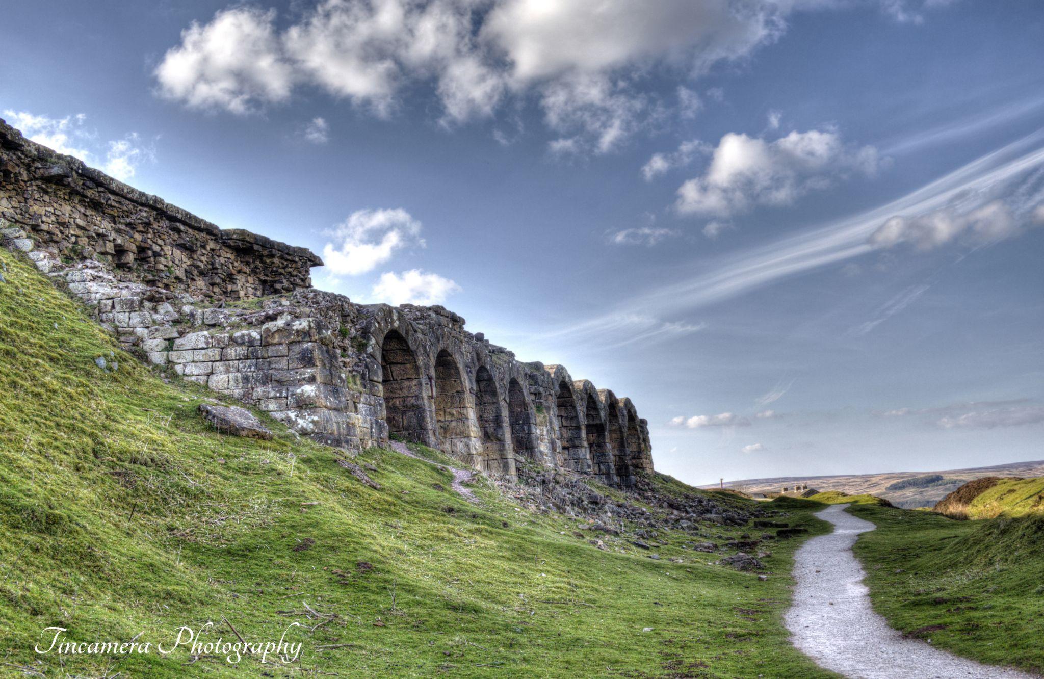Bank Top Ironstone Kilns by john jenkinson