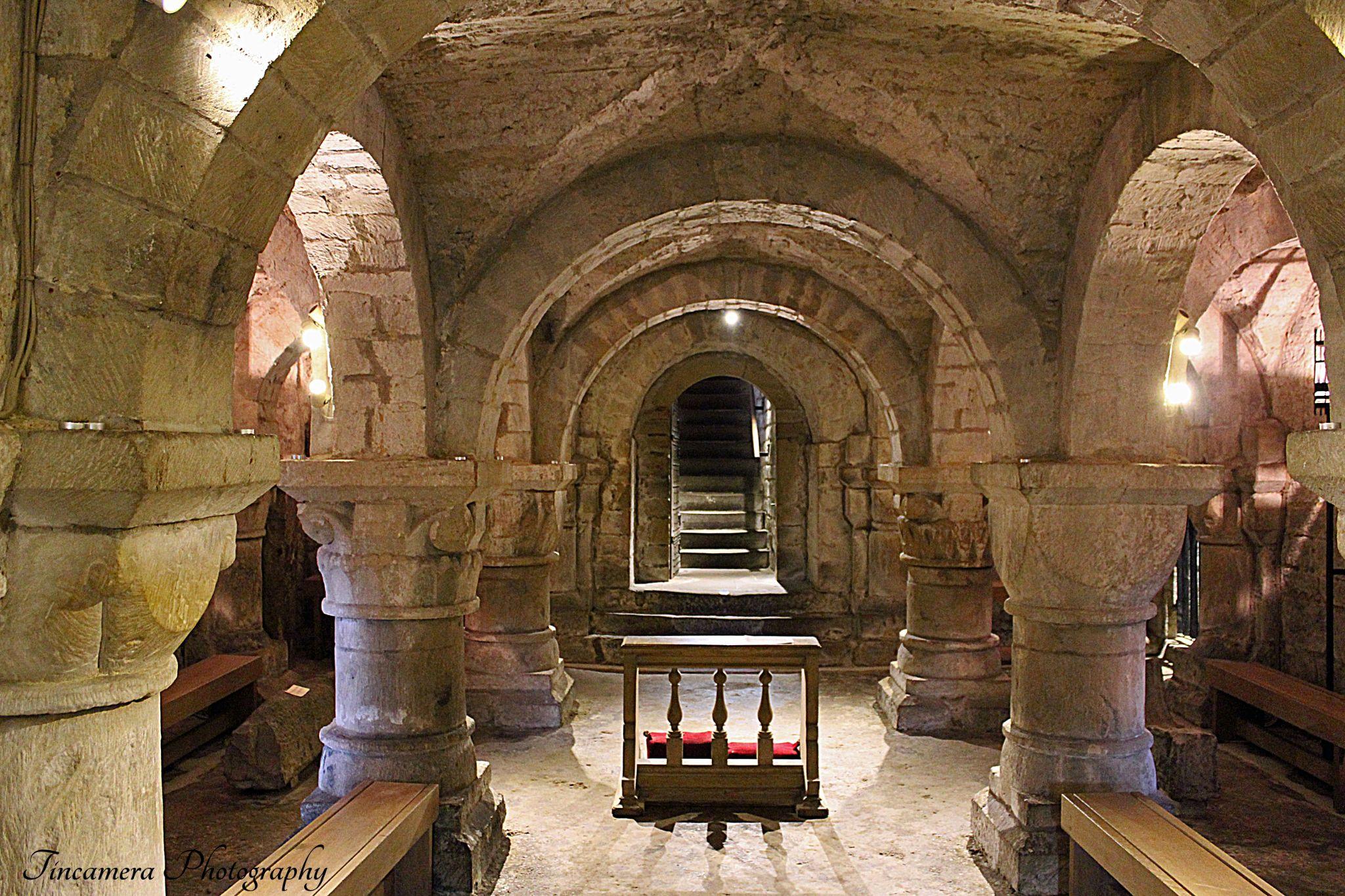 The Crypt. Lasingham Church. by john jenkinson