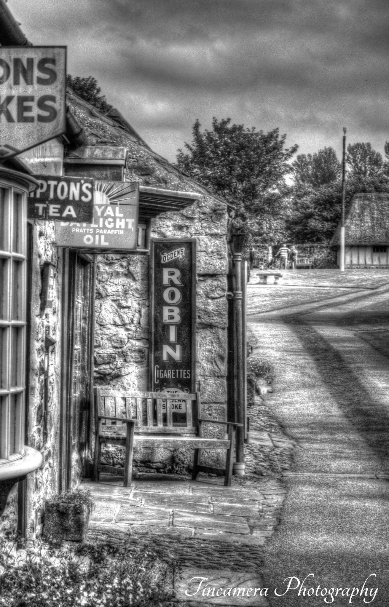 Ryedale Folk Museum. HDR, B&W by john jenkinson
