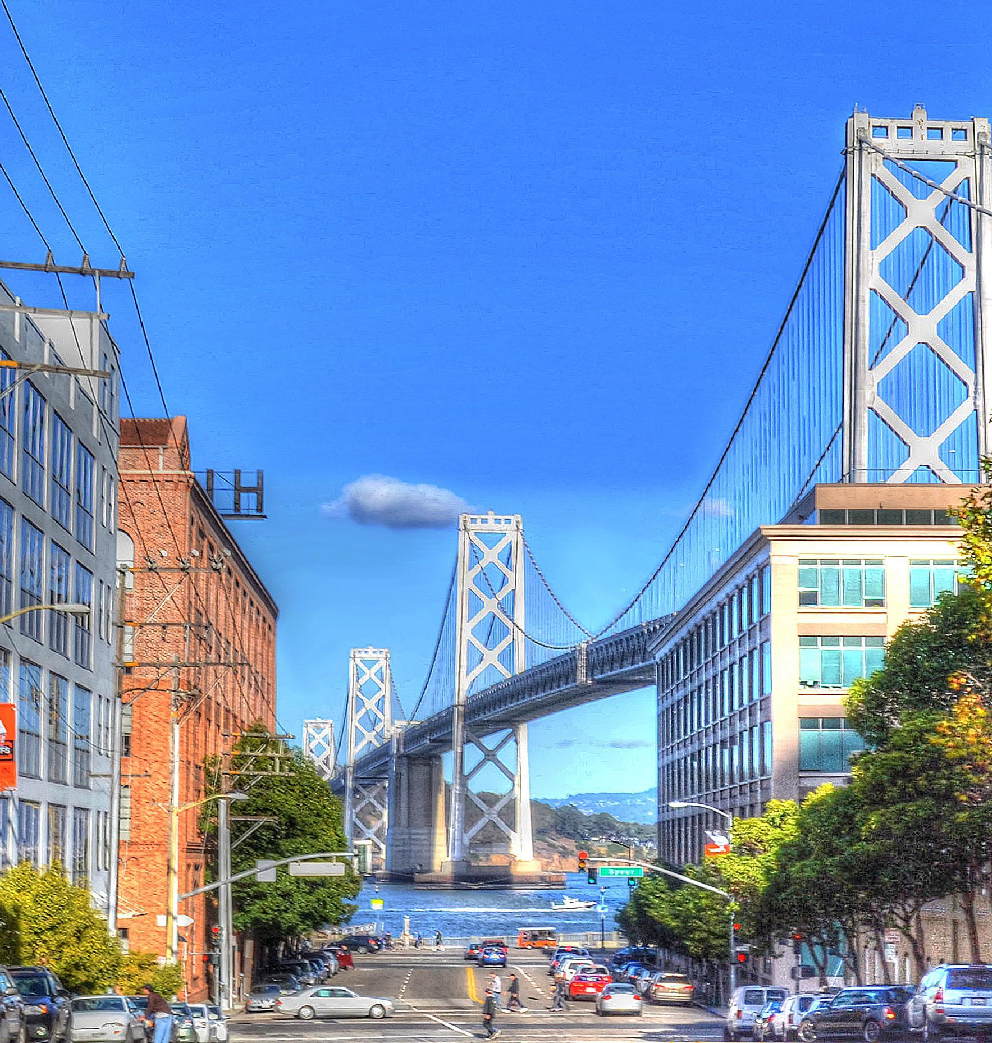 Photo in Cityscape #san francisco bay bridge #bridge #bay