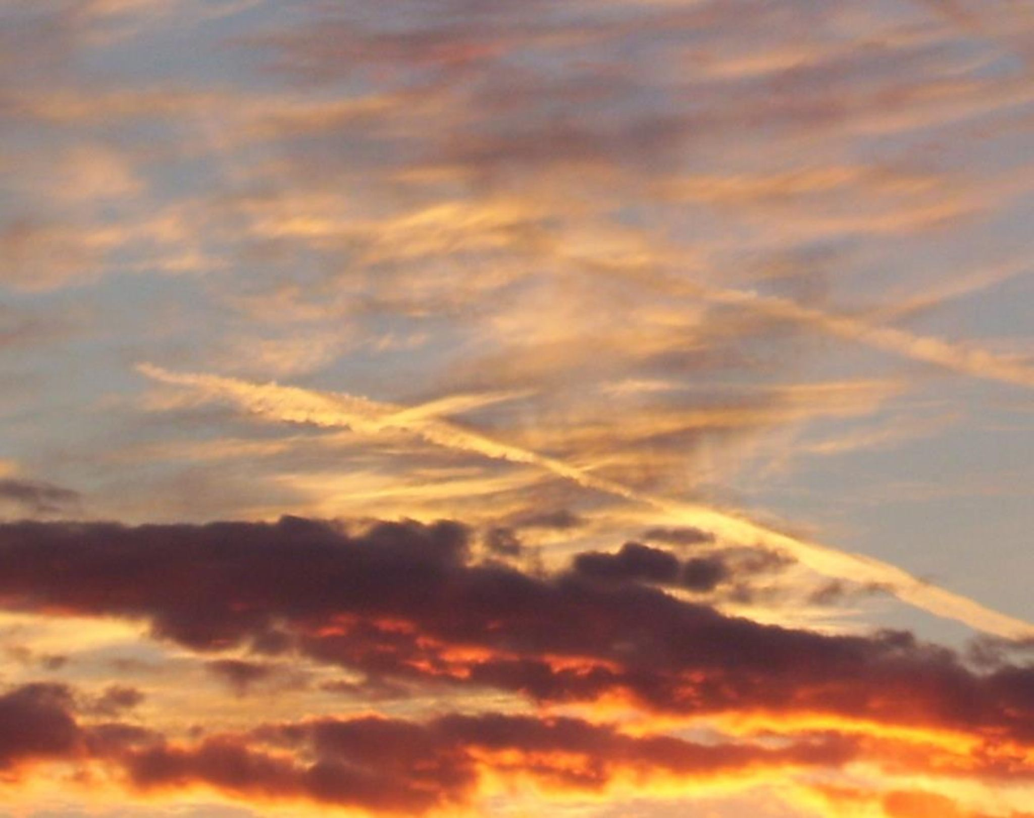 Crosses in sunset by sally.kaley