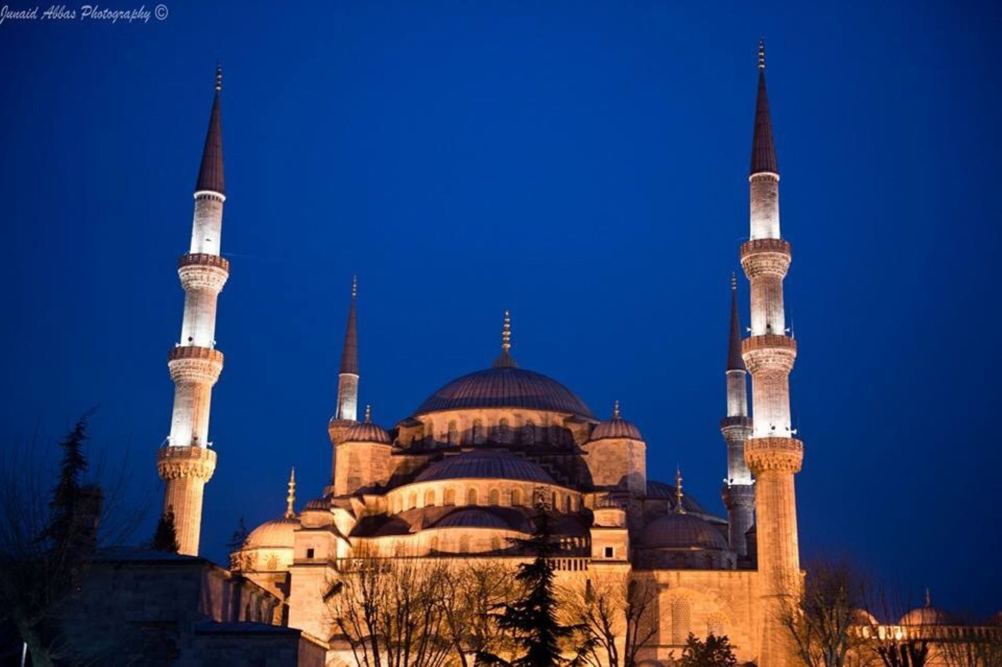 Blue Mosque by Junaid Abbas