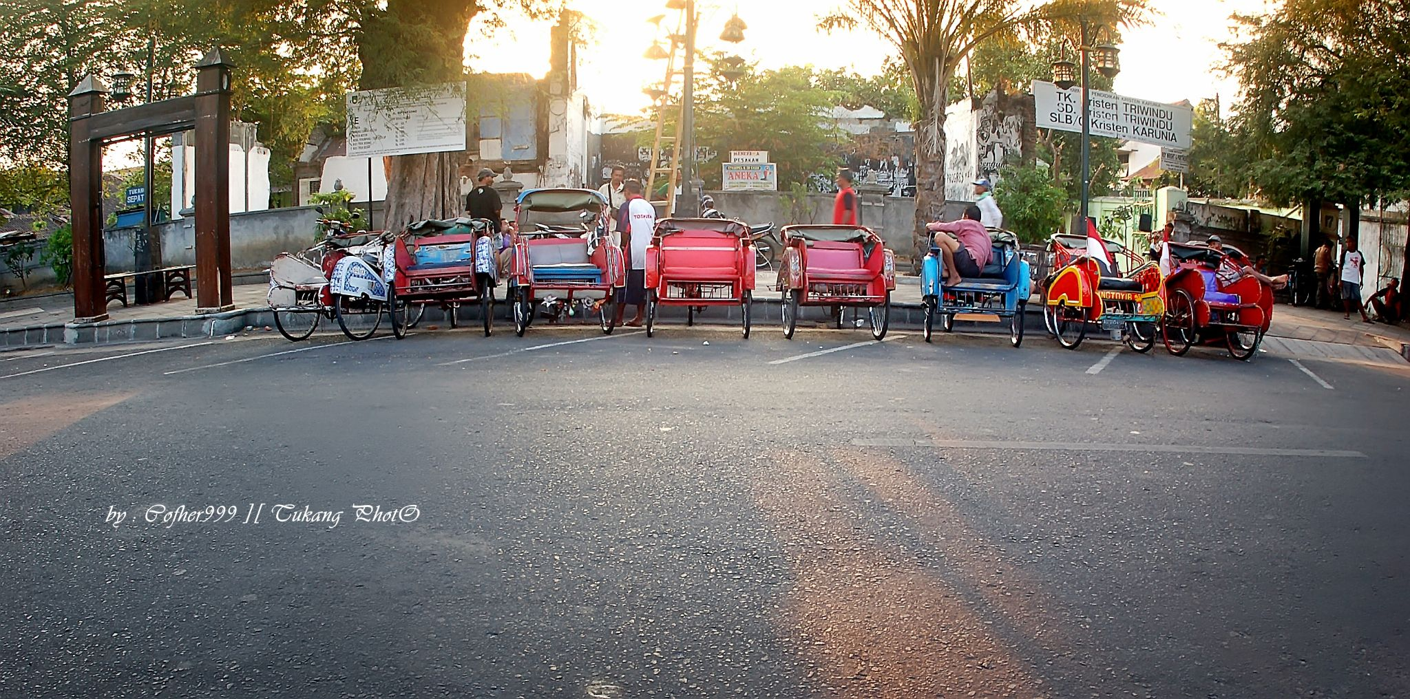 becak by buagas.andy