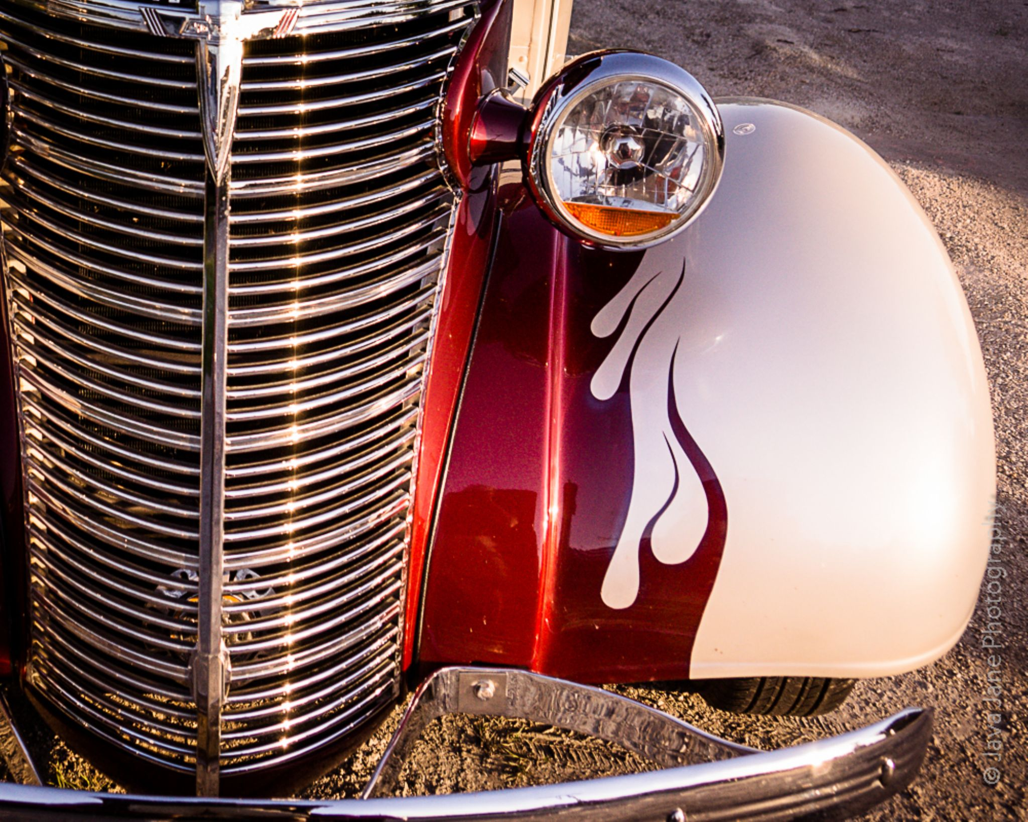 Chevy and Flames by Tony Harris