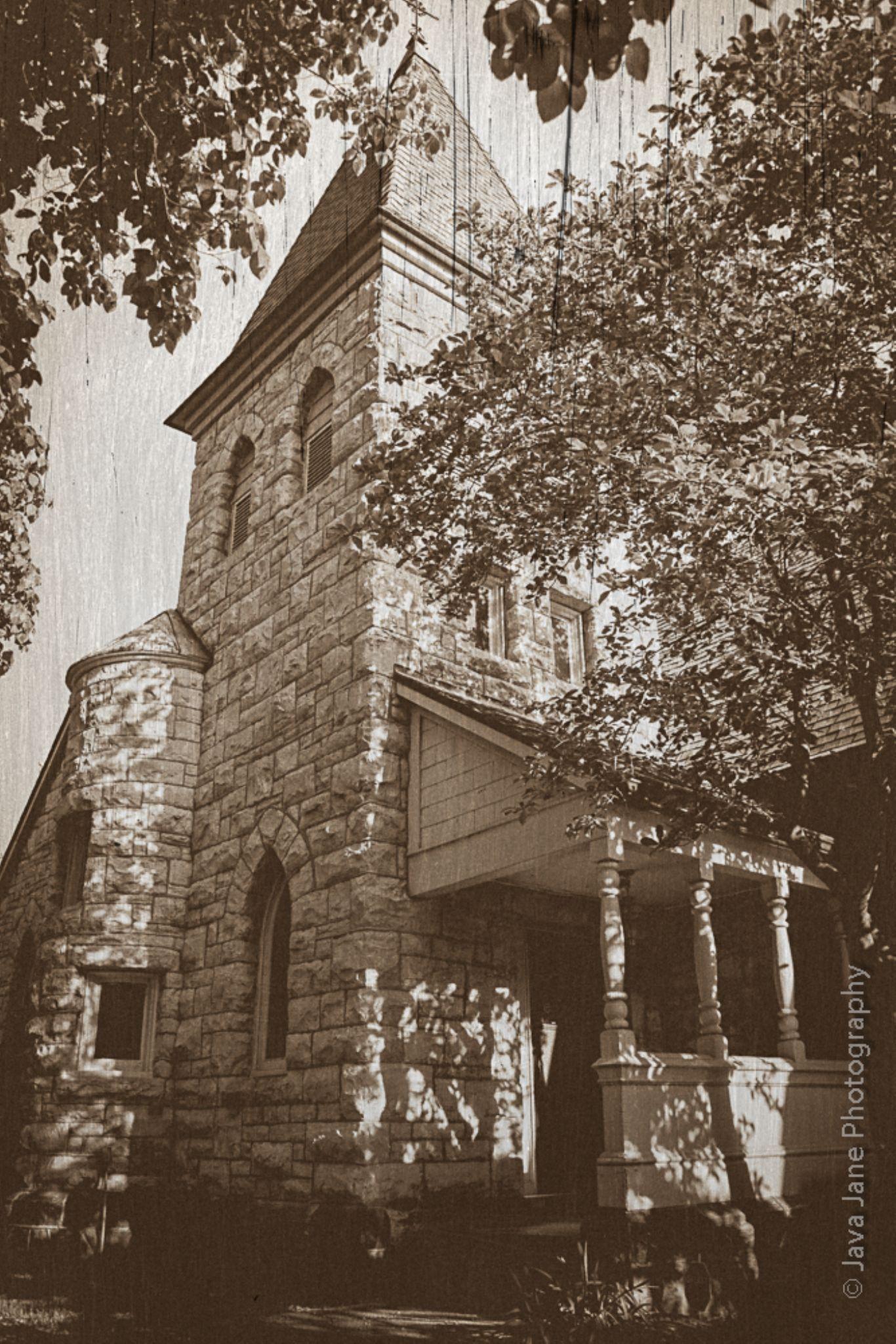 Old Skool Church by Tony Harris