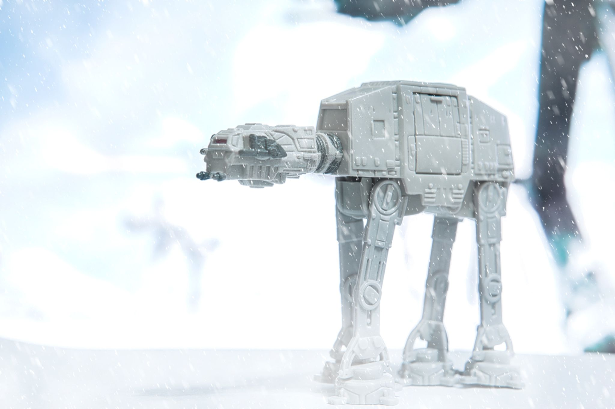 Through The Blizzard by Robbie Hilado