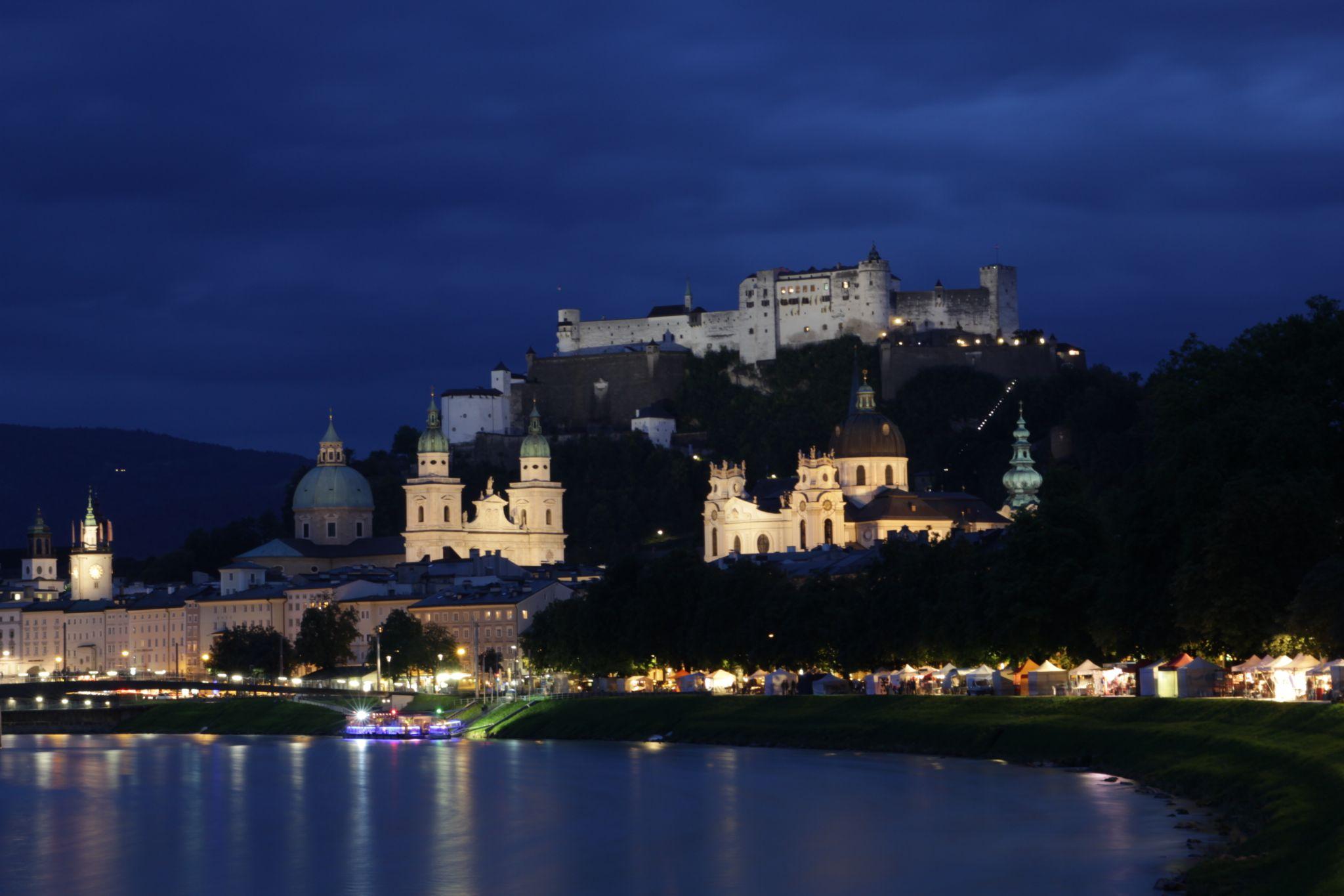Salzburg city by Martin