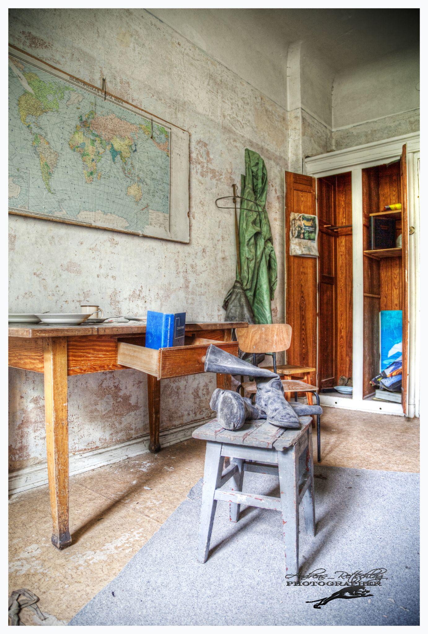Garnison Wünschdorf Lost Places by Andreas Rettschlag