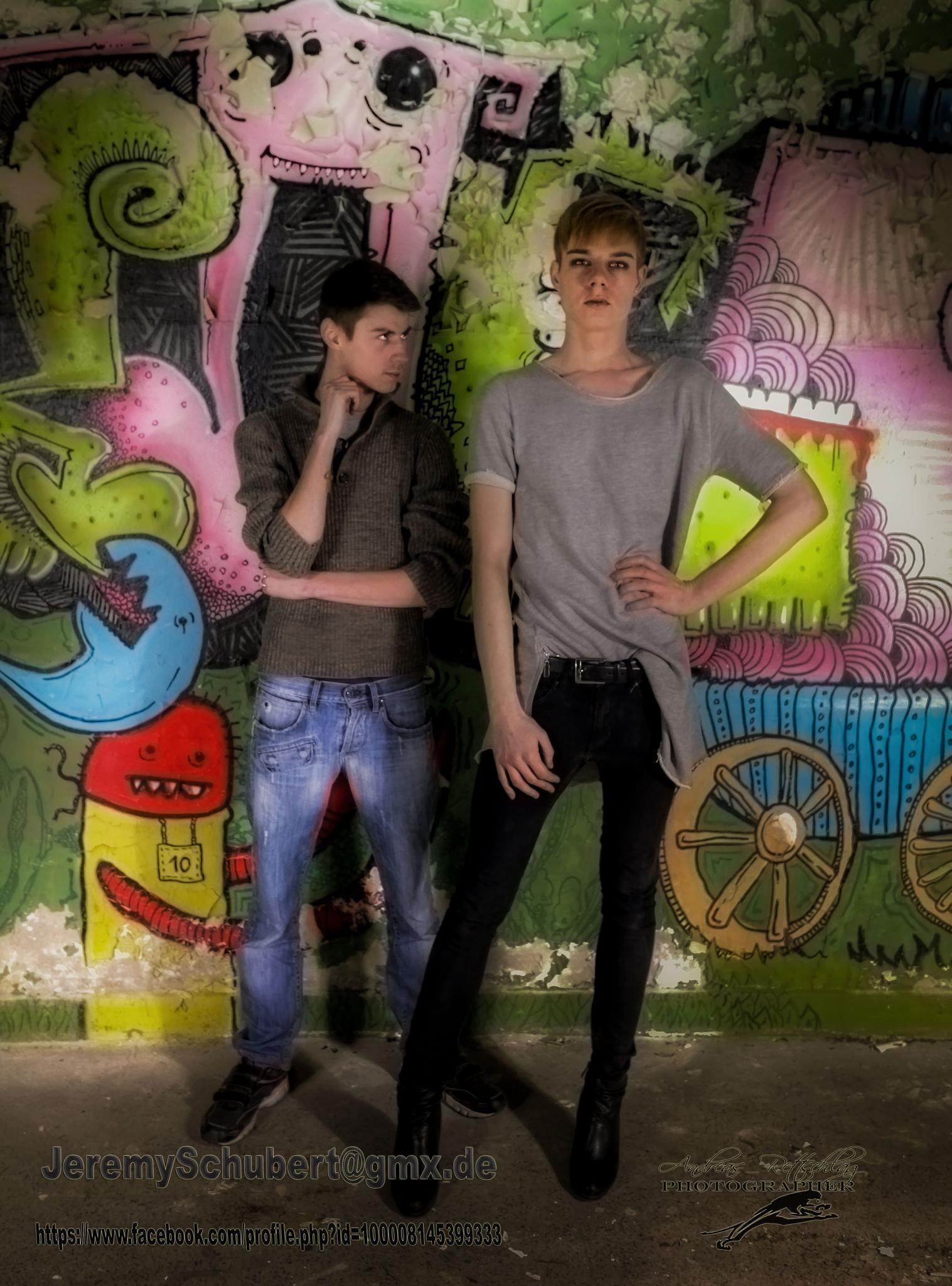 Model: Avid and Antonio... by Andreas Rettschlag