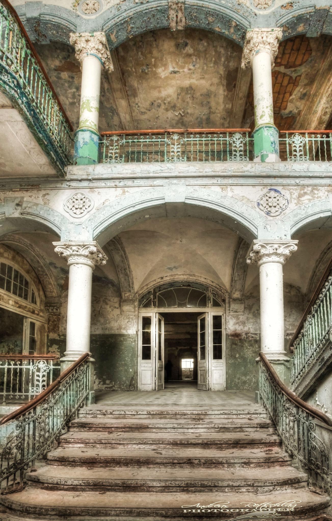 Lost Places Beelitz by Andreas Rettschlag