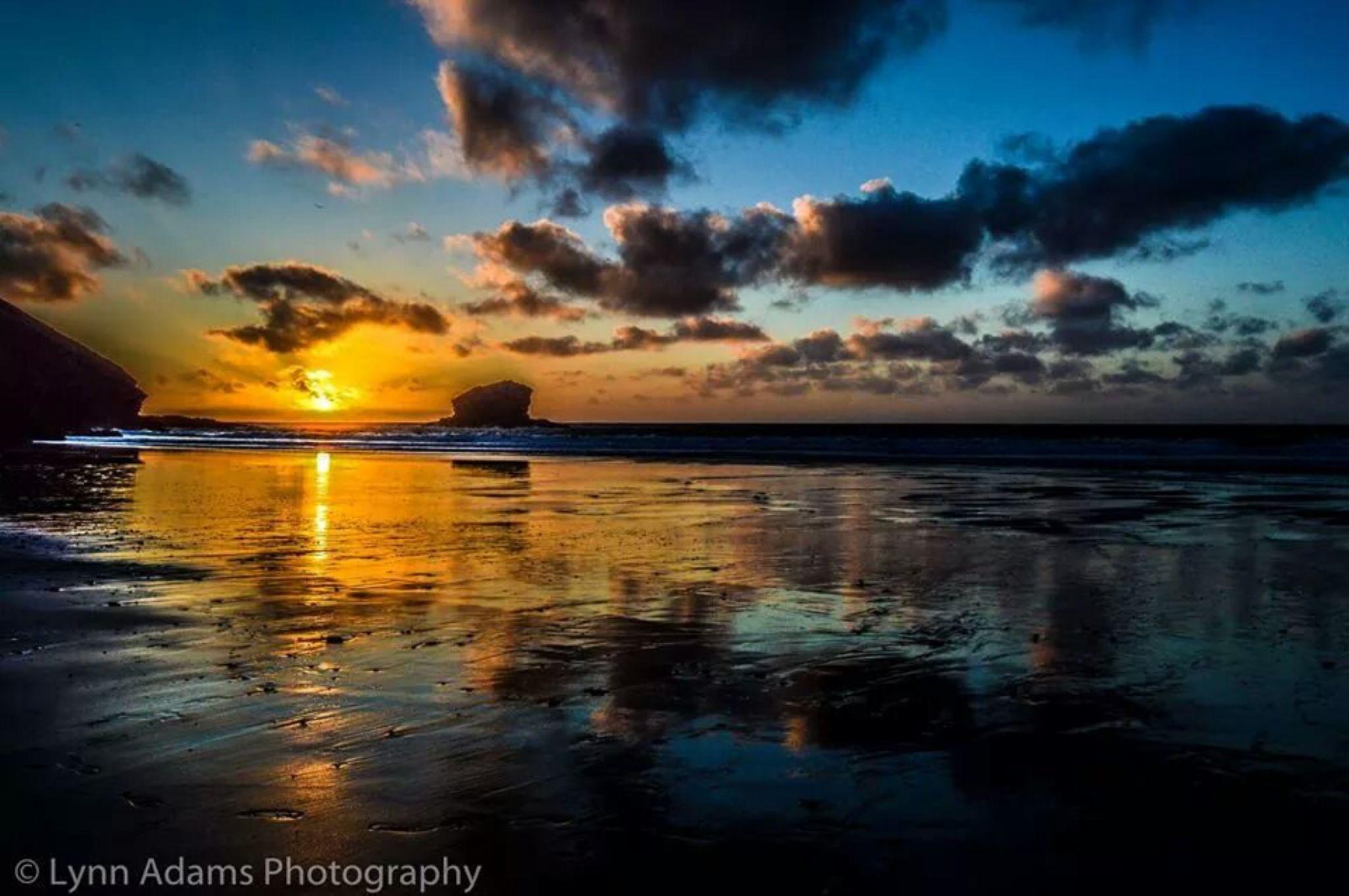 Gull Rock Portreath Cornwall by lynnie.adams.90