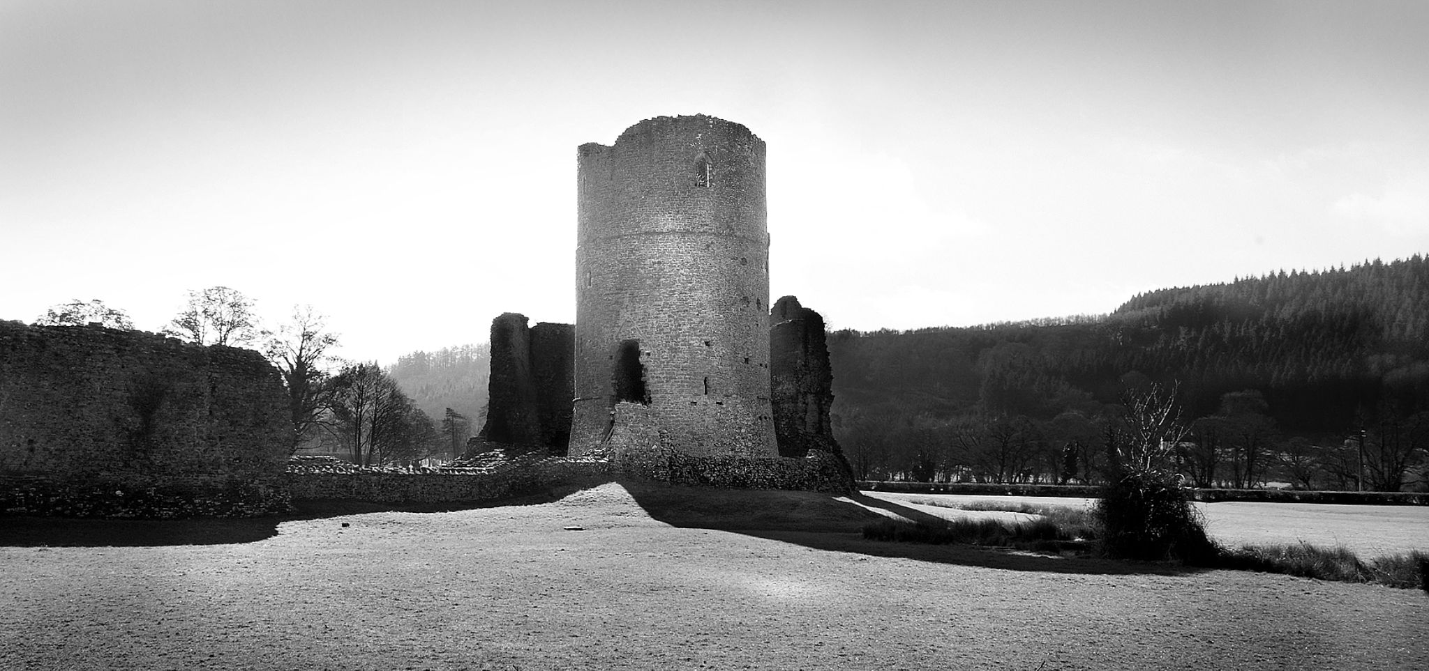 Tretower Castle by anthonyjames