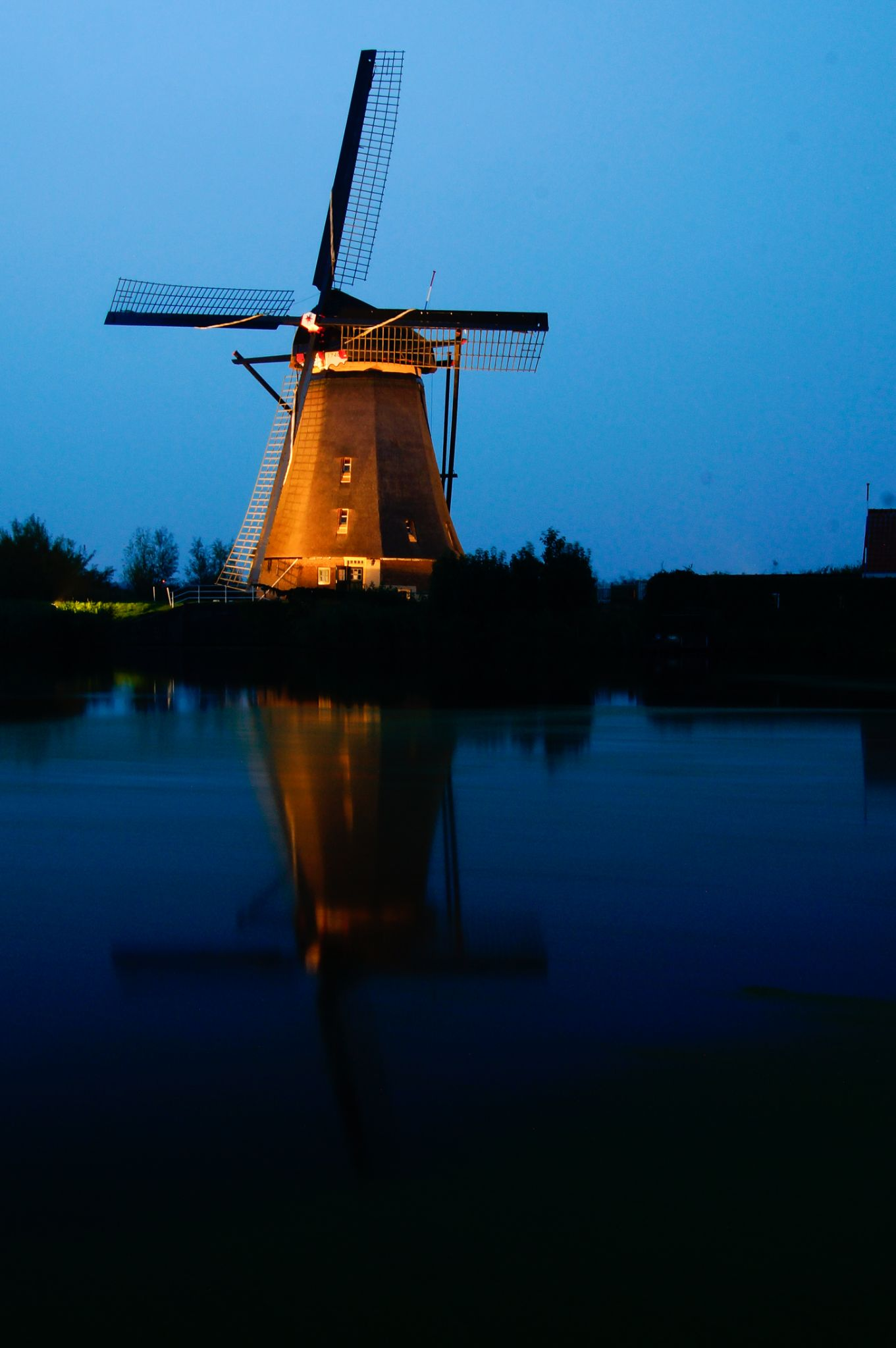 Dutch Windmill by tom.vandam.7