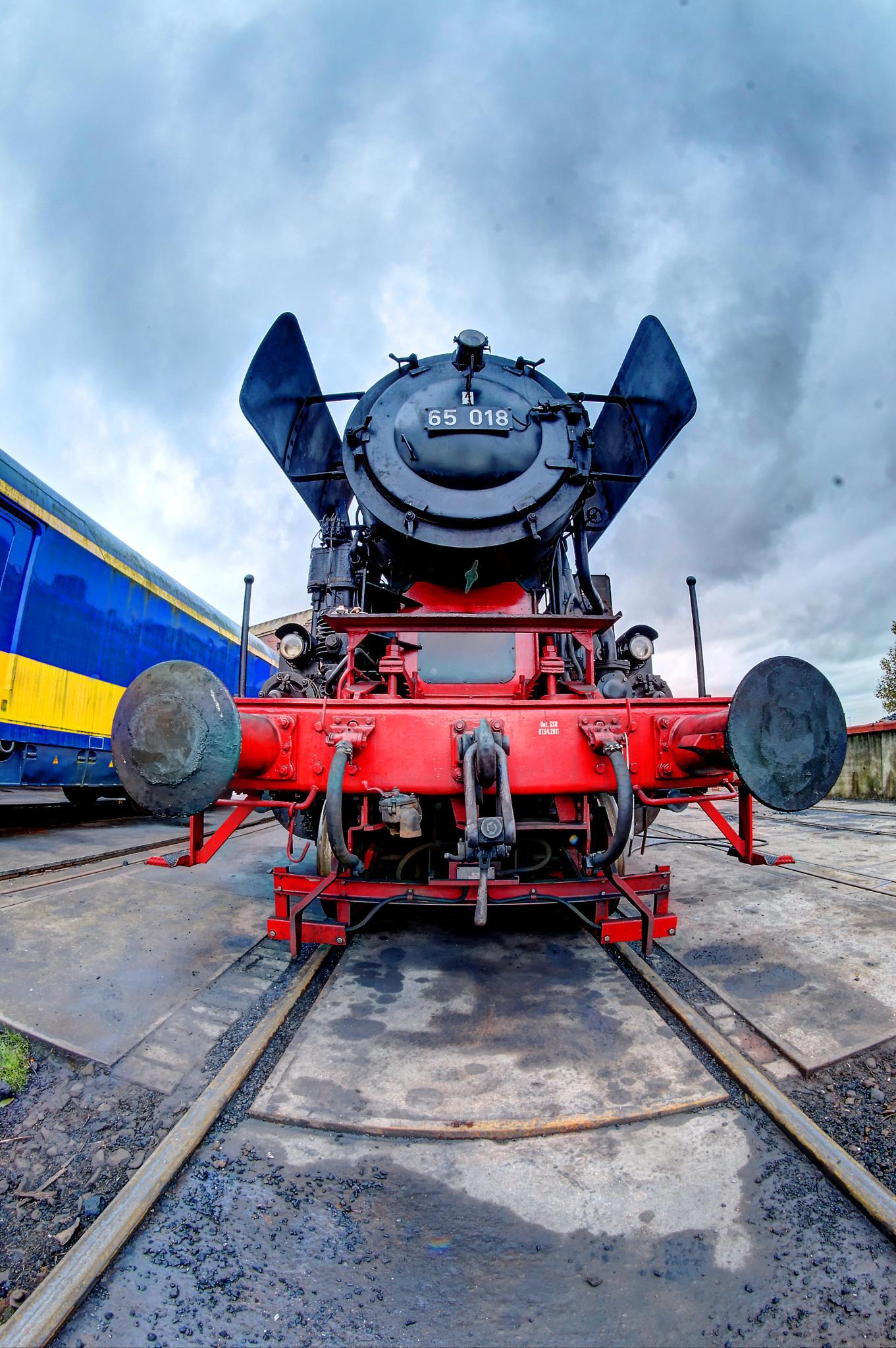 Photo in HDRI #steam #train #loc