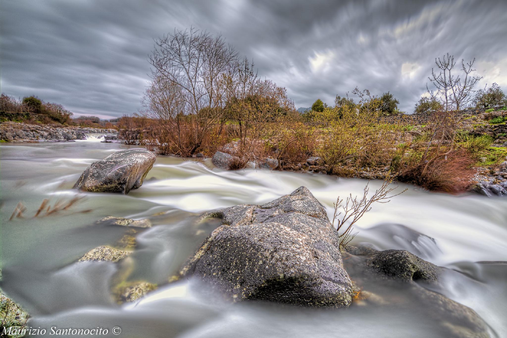 the charm of the river Alcantara by maurizio.santonocito