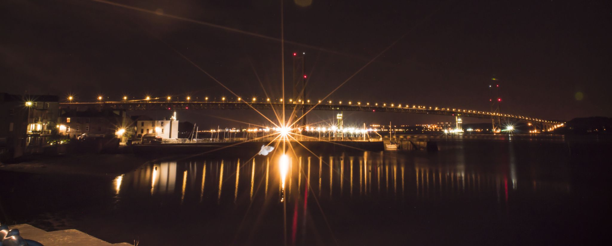 Forth Road Bridge Long Exposure by Rob
