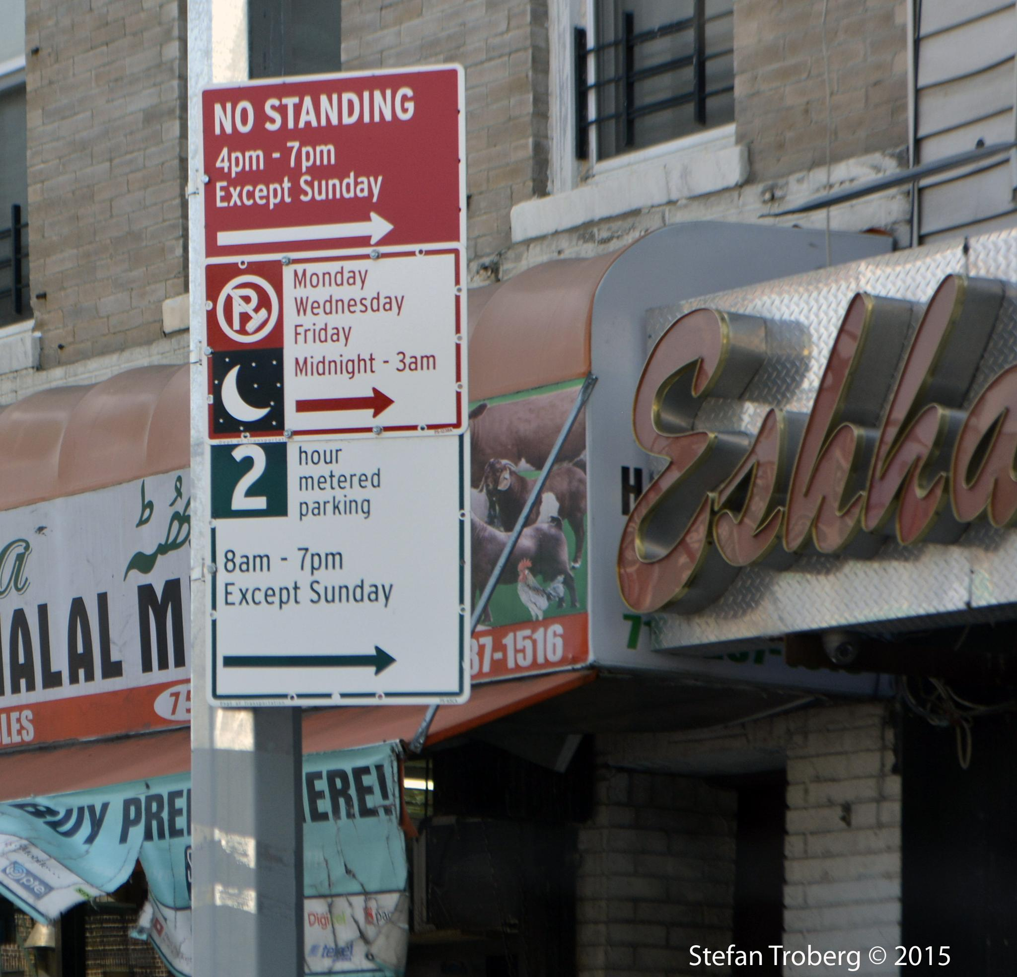 Photo in Random #parking #signs #nyc #tickets #traffic #cars #rules #brooklyn #difficult