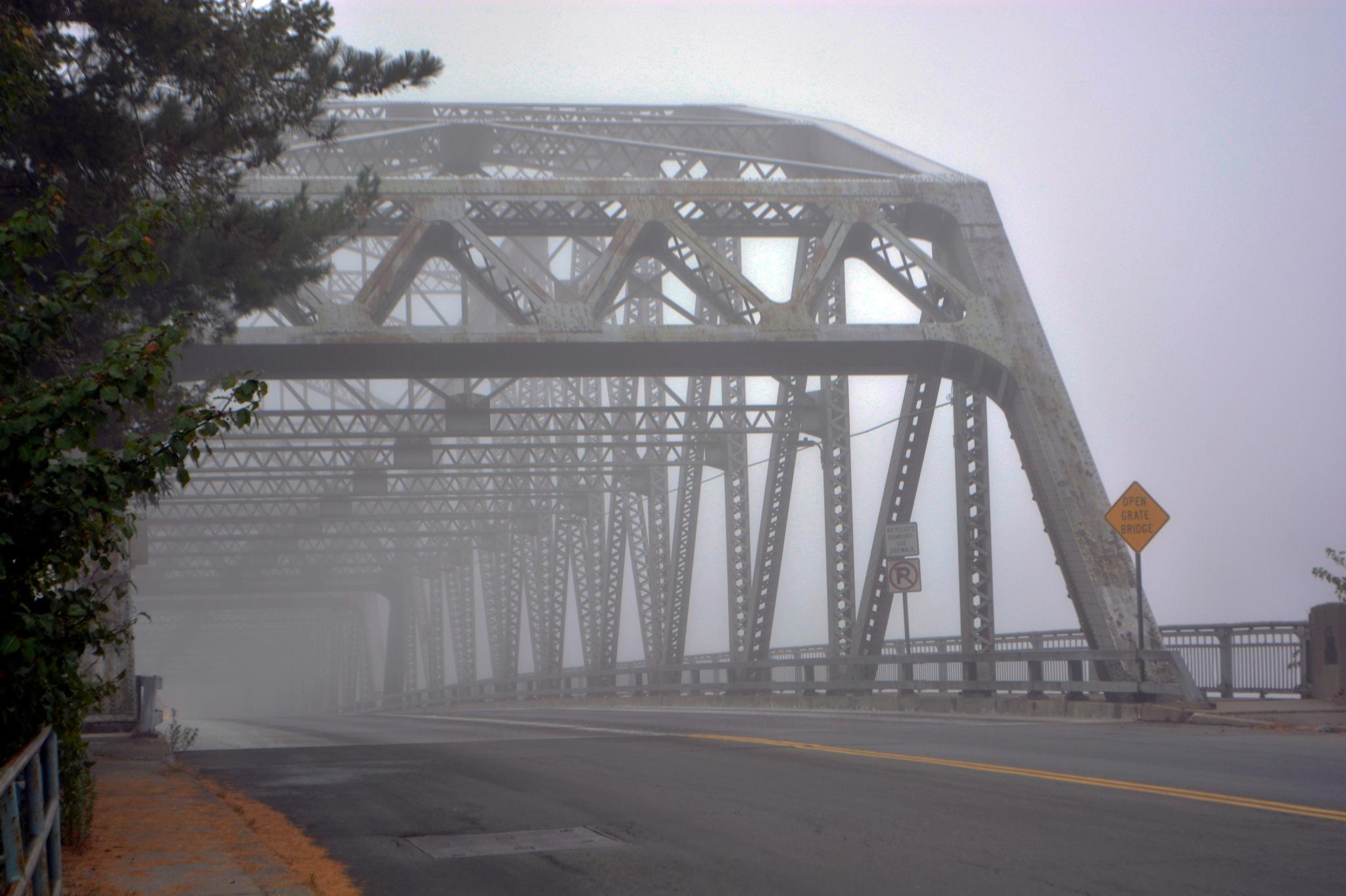 Bridge in the fog by Stefan Troberg