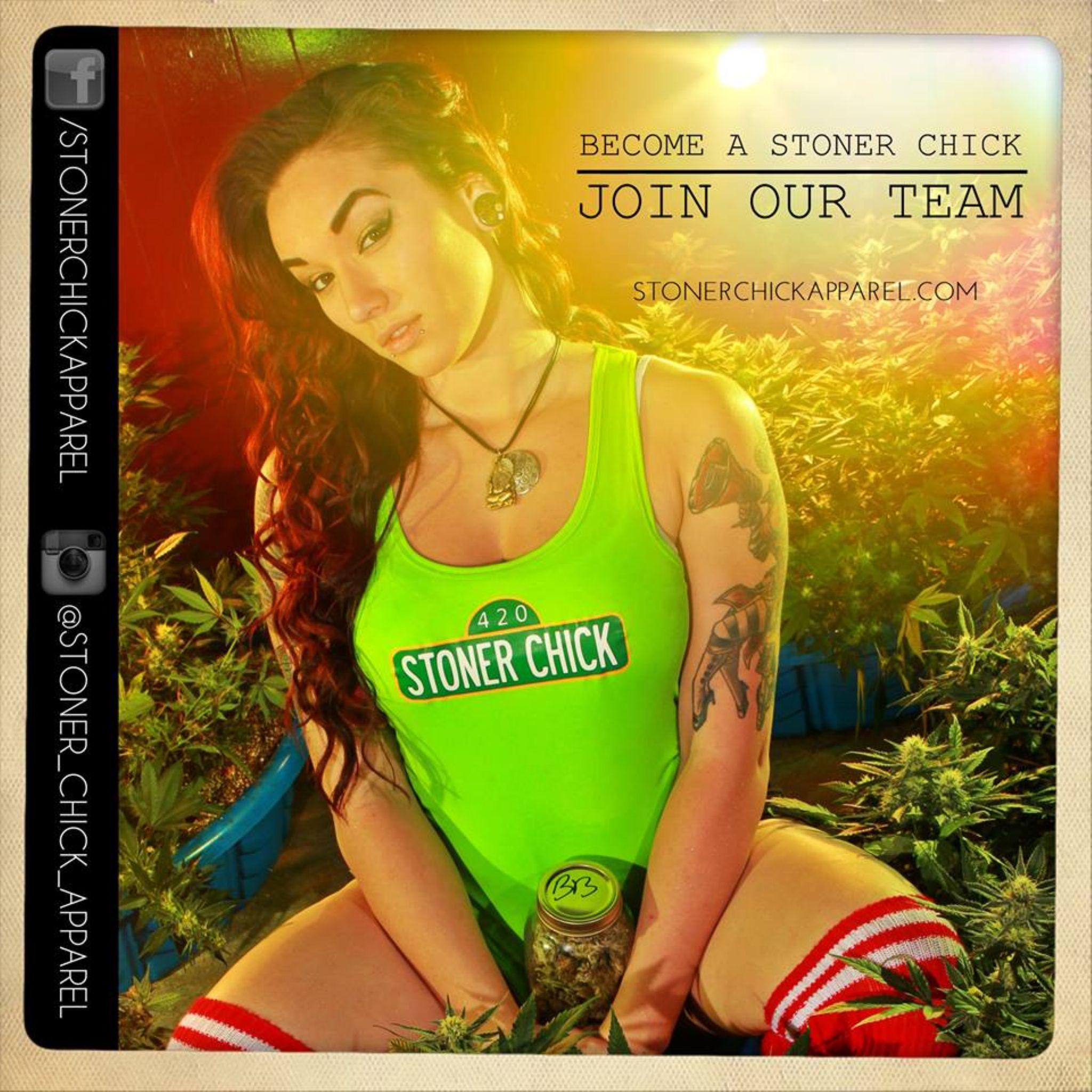 Stoner Chick Apparel - New Age Hippie by nichaulass