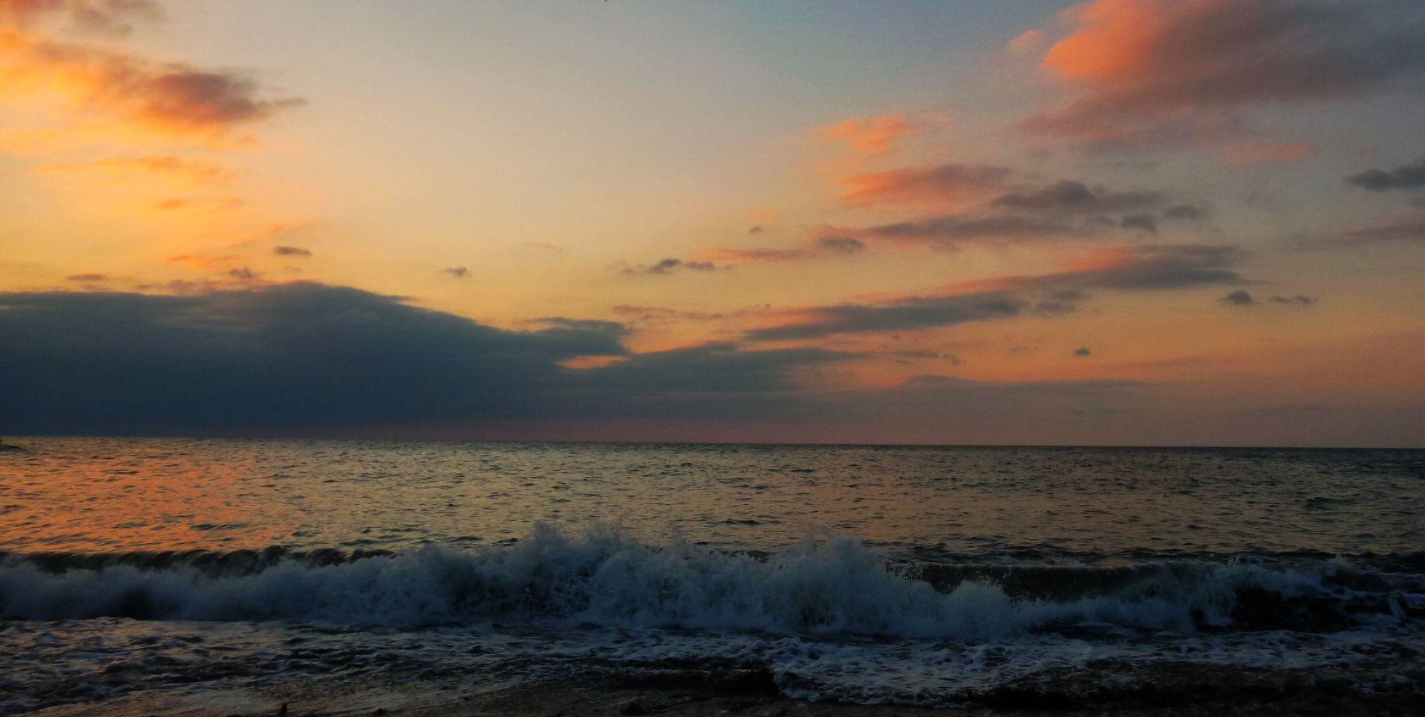 sunset aberaeron by chris.adams.3557