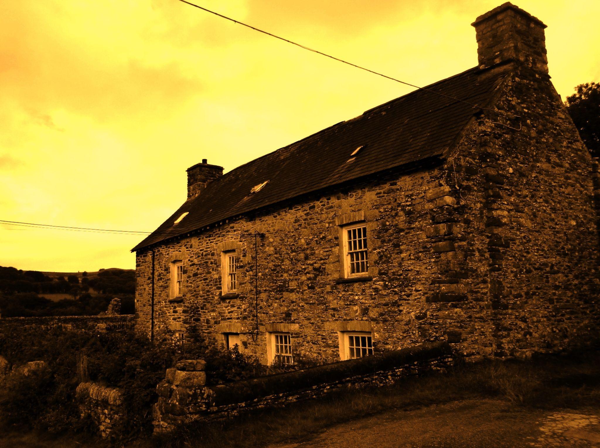 welsh farmhouse by chris.adams.3557