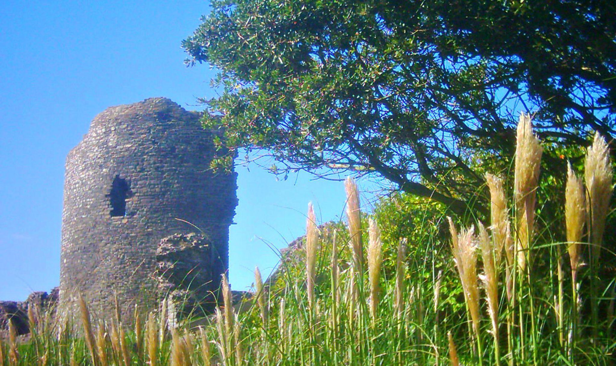 the old castle aberystwyth by chris.adams.3557