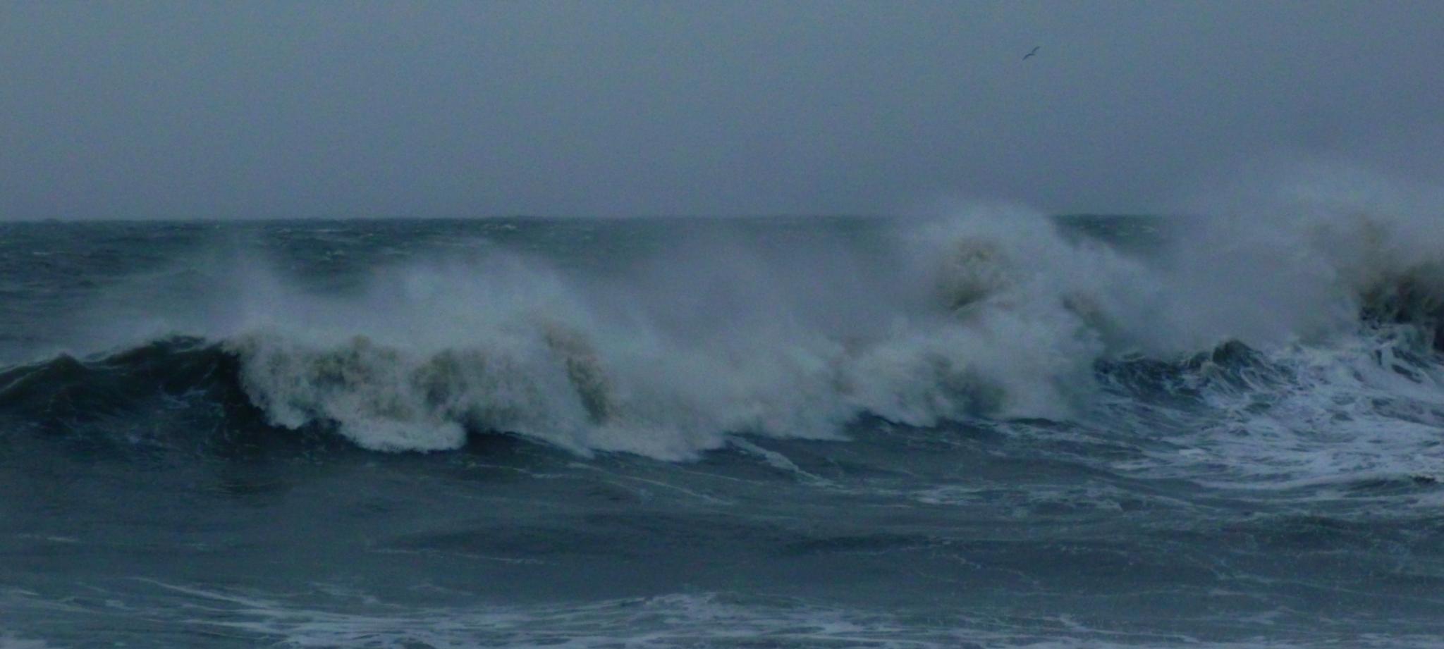 foaming sea by chris.adams.3557