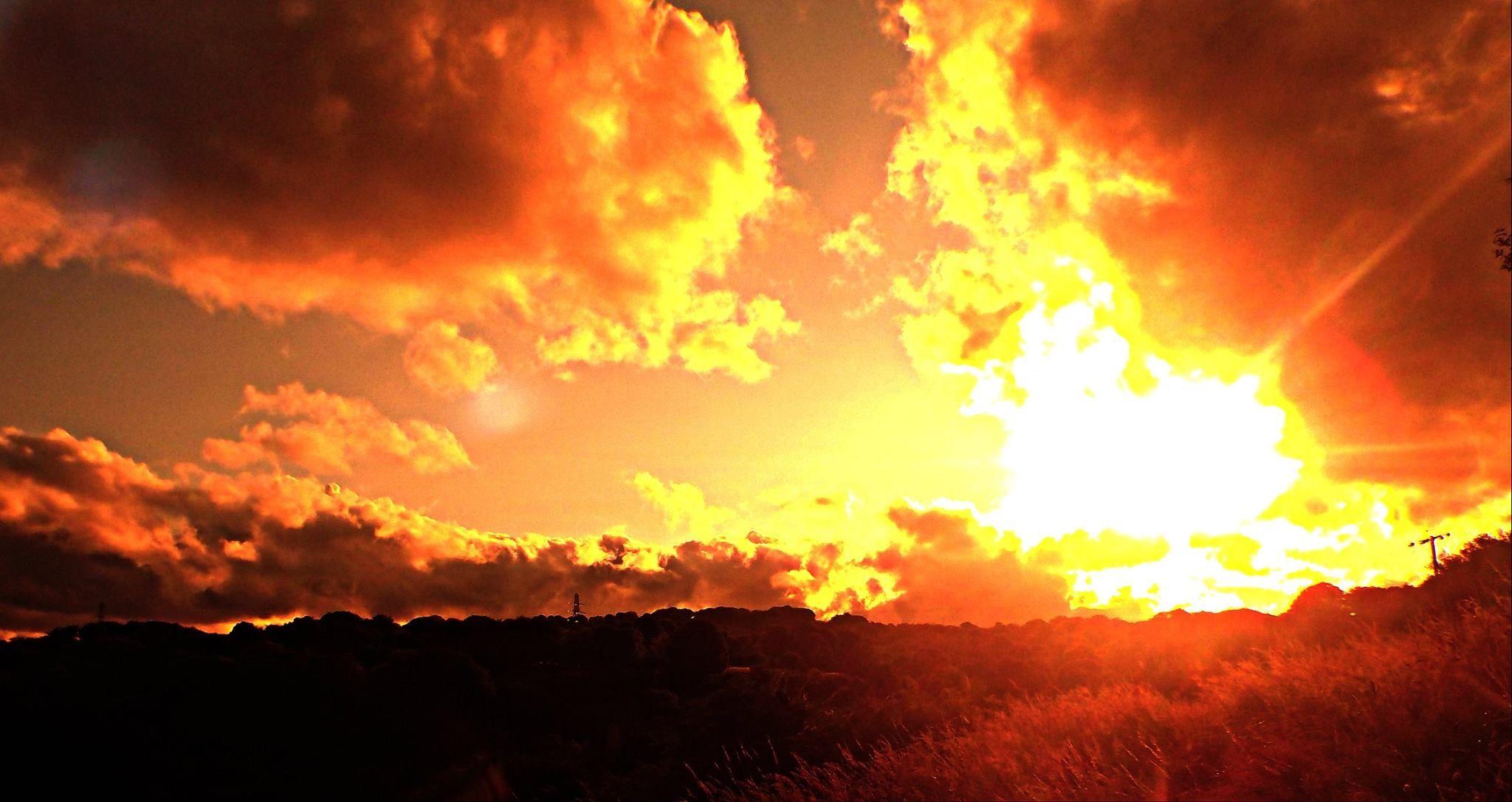sunset by shazoot1984