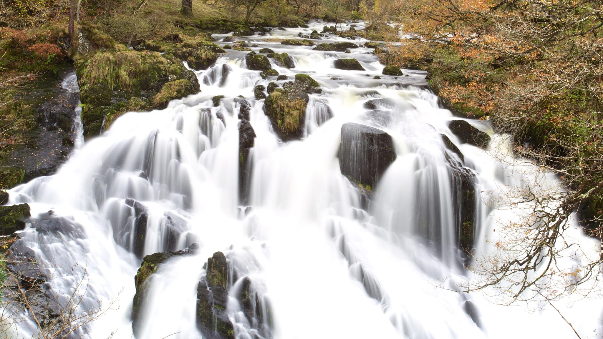 Photo in Landscape #water falls #snowdonia #uk #wales