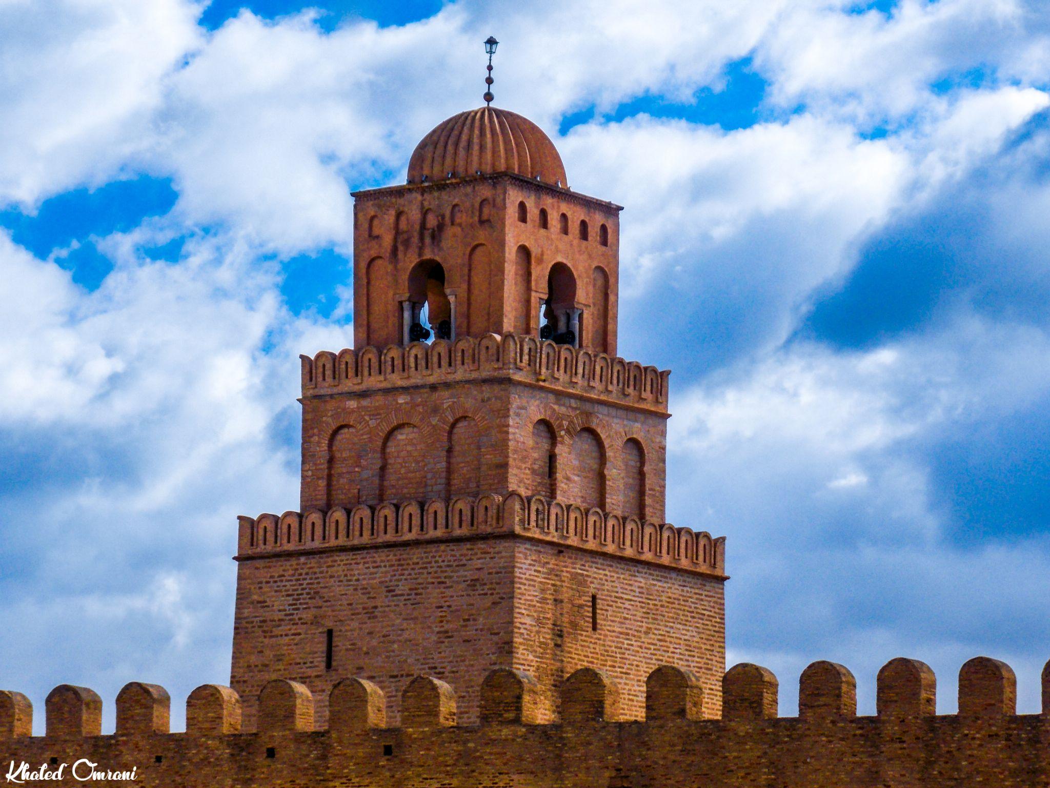 The mosque of Uqba Ibn Nafaa by Khaled Omrani