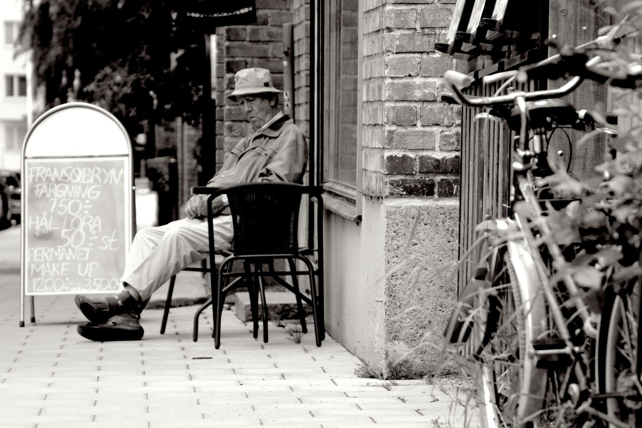 Old Man sleeping by pedro.s.serrano.18