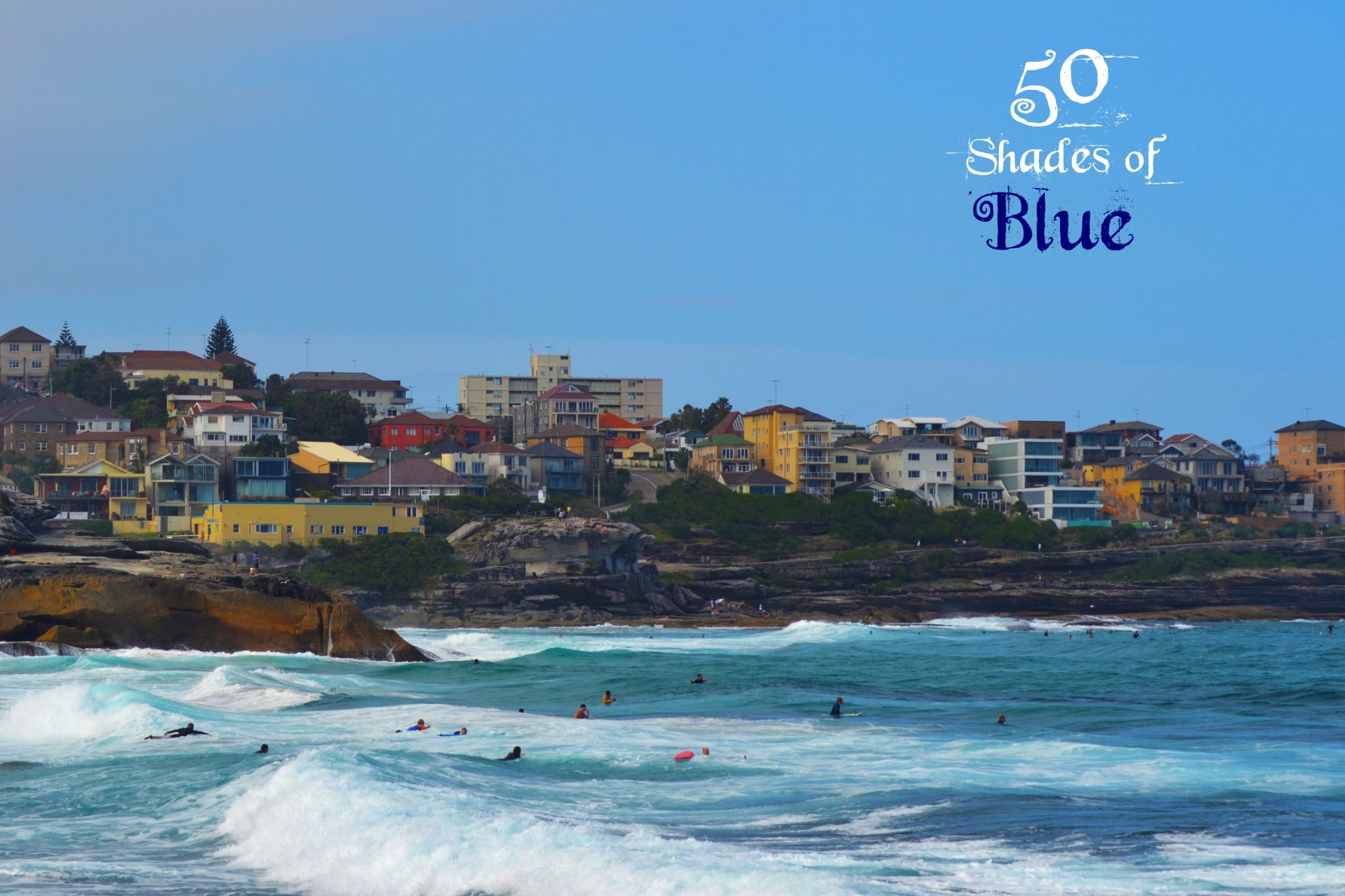 50 Shades of Blue !  by Ankit Arora