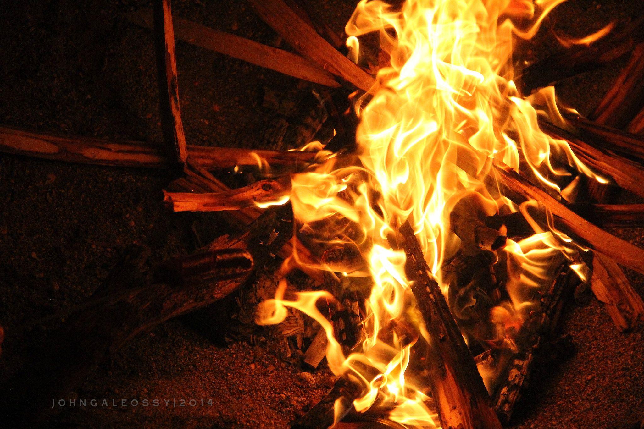 Bonfire  by John Galeos Sy