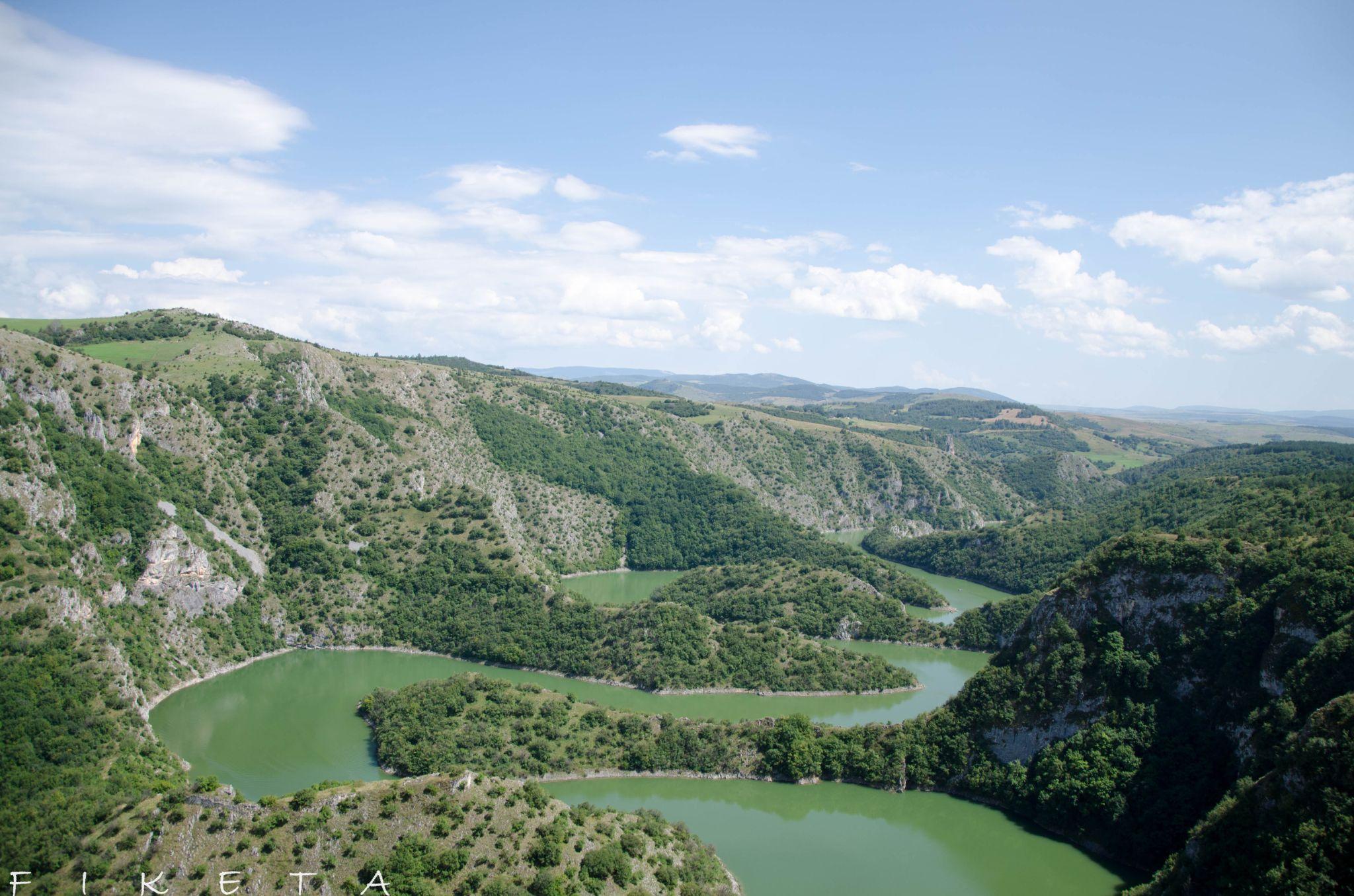 Uvac meander by fiketa