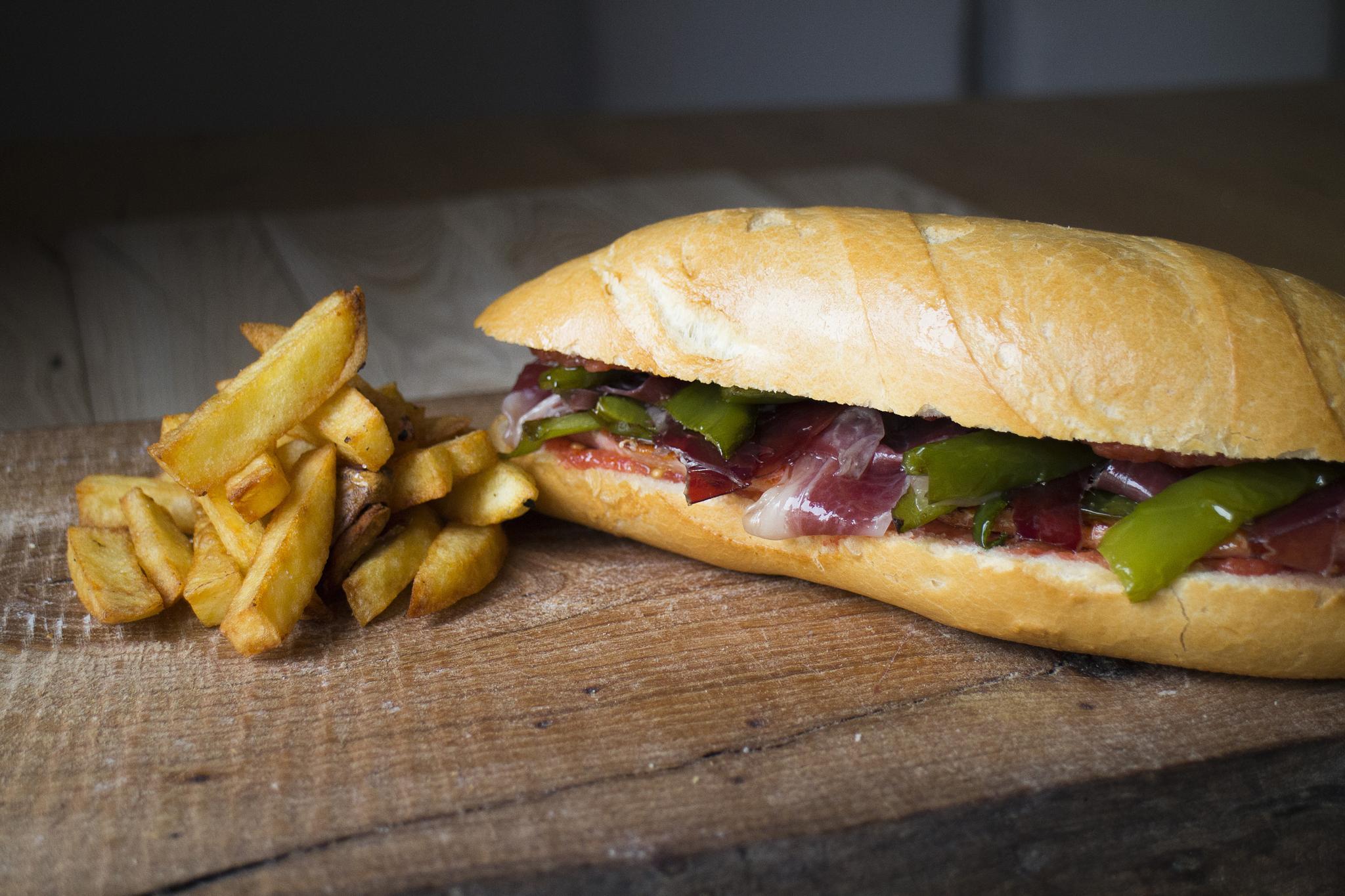 Photo in Food #serranito #dicestuqueno #bocadillo