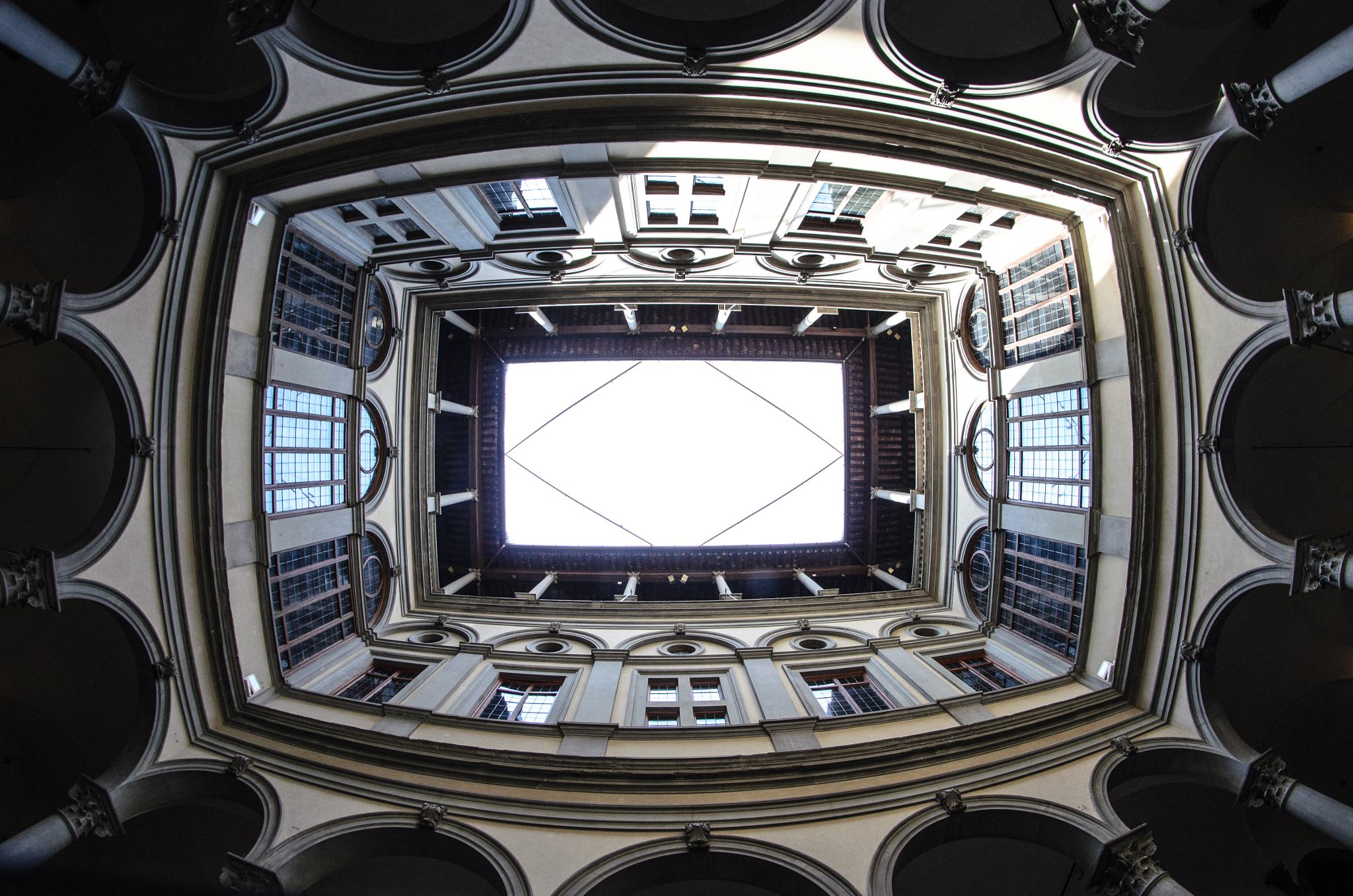 Look up in Florence by Antoine LE