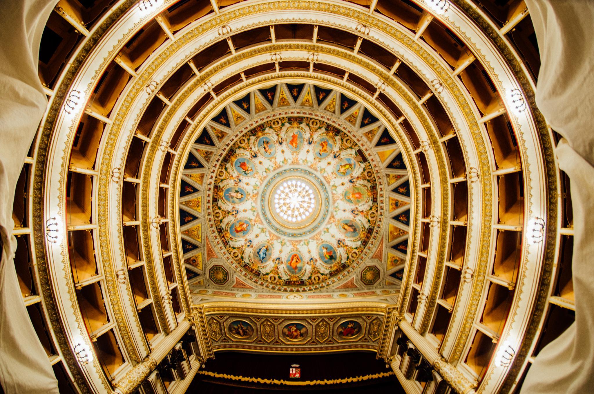 Orvieto Teatro Mancinelli by Antoine LE