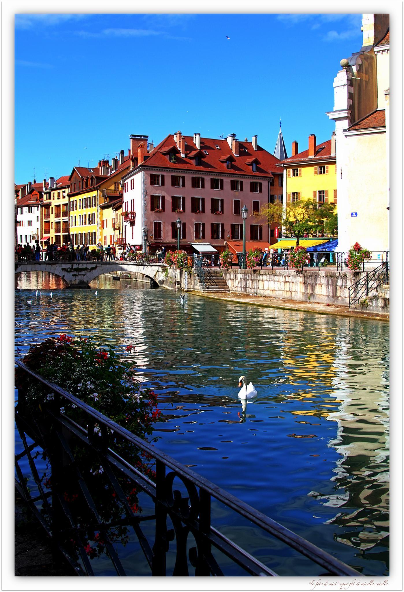 I Canali di Annecy,Alta Savoia by mirella.cotella