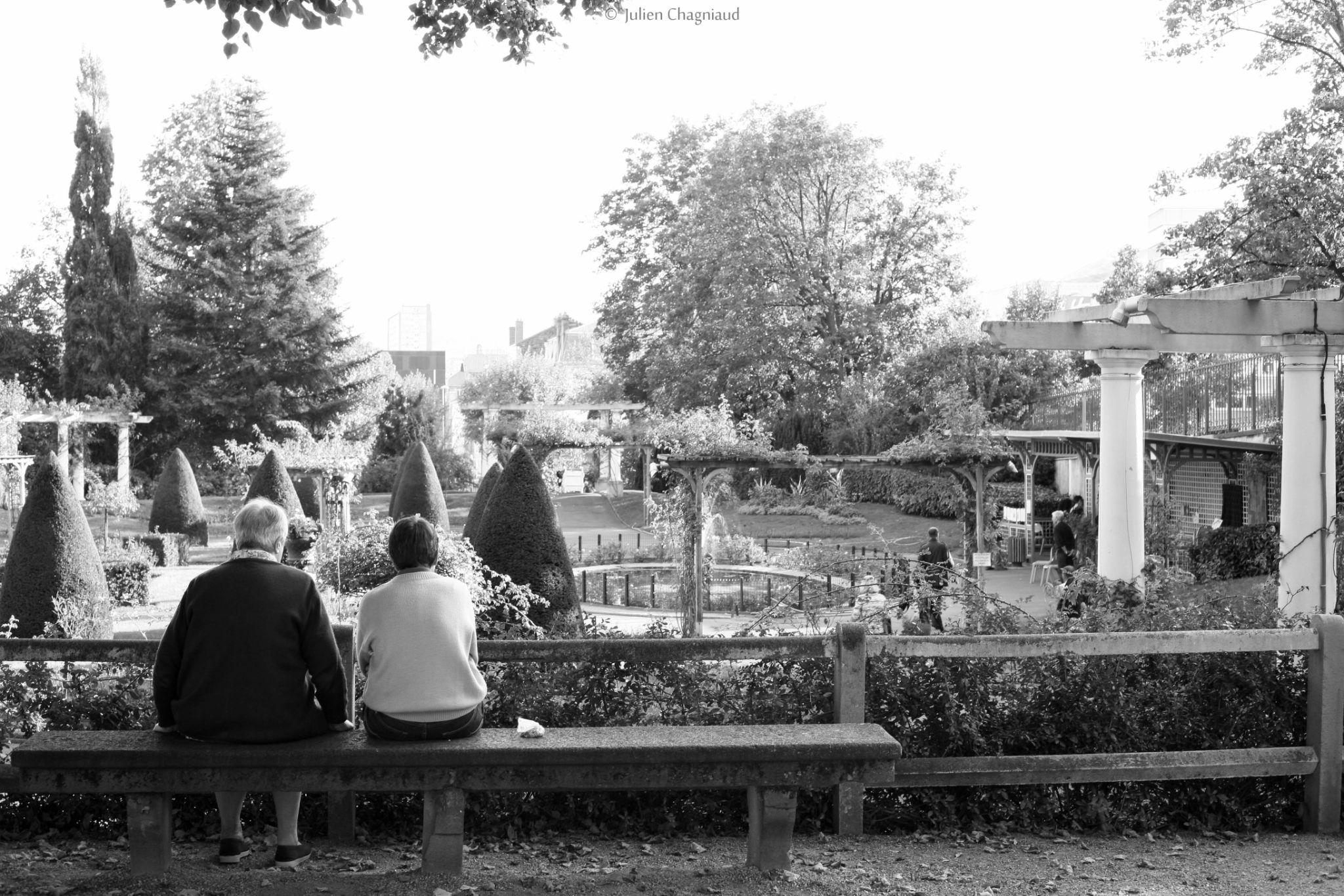 Watching the garden by Julien Chagniaud