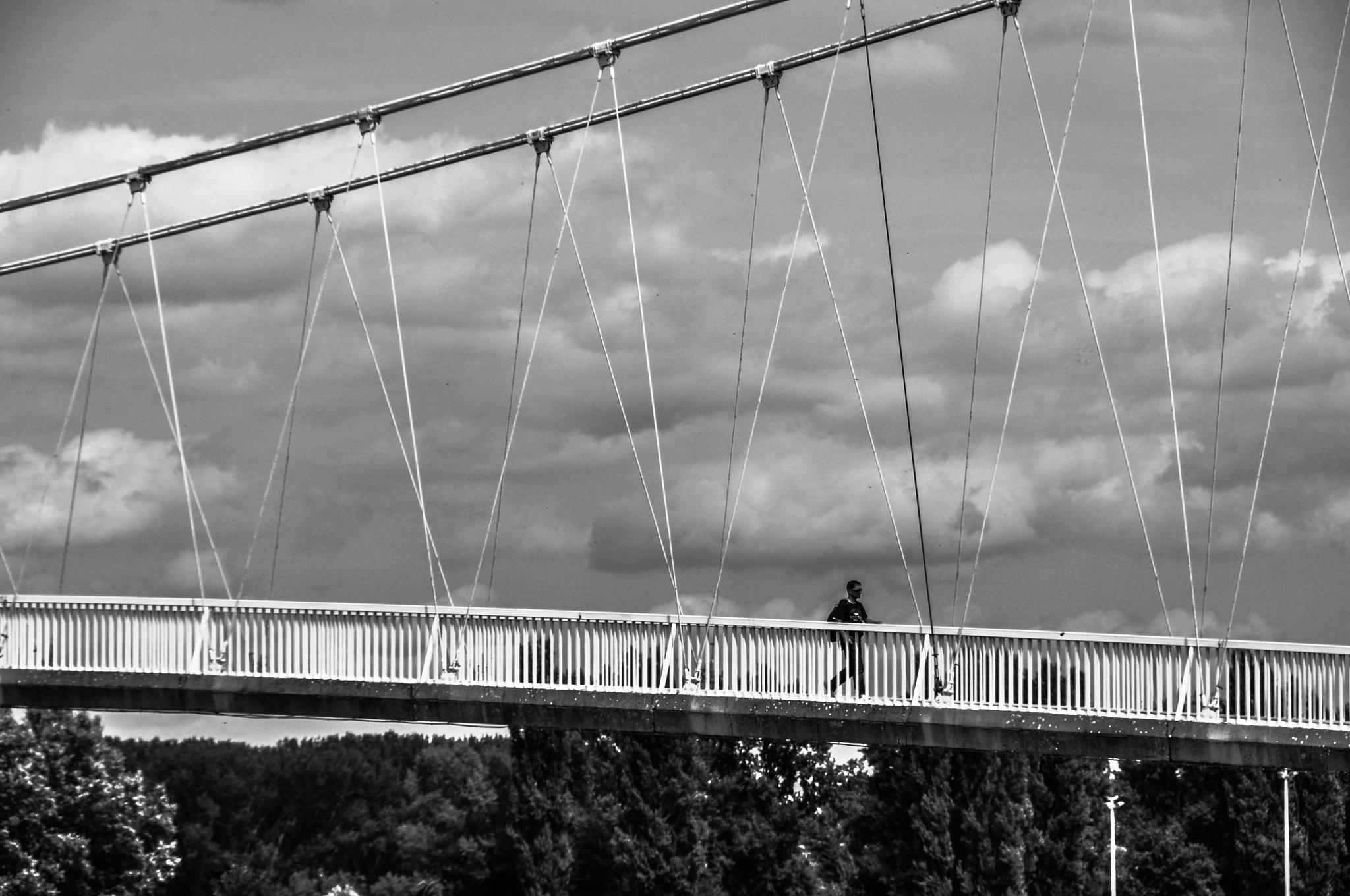 Pedestrian Bridge by tamara.seles