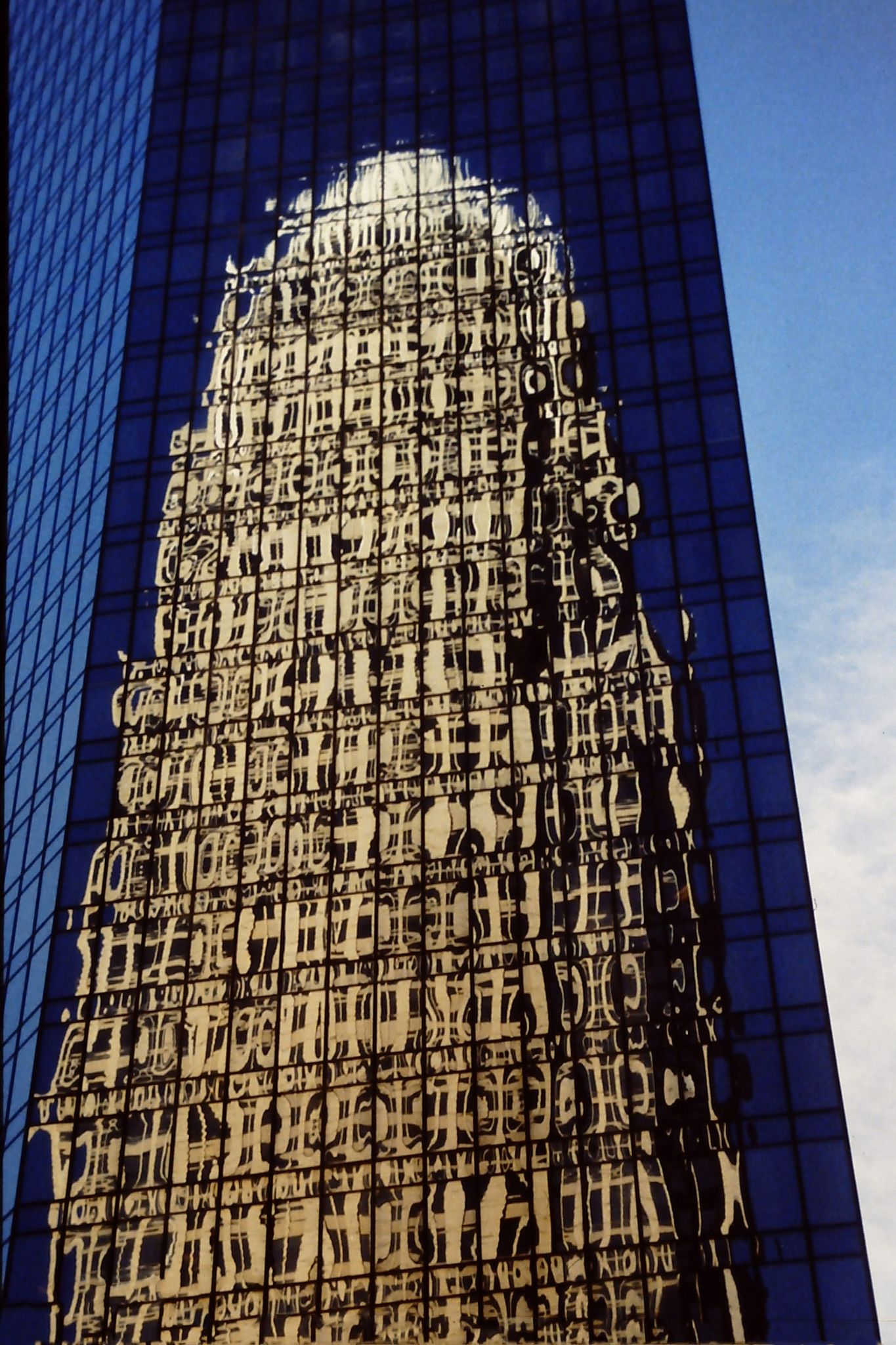 The two Bank of America buildings by James Hughes Photography