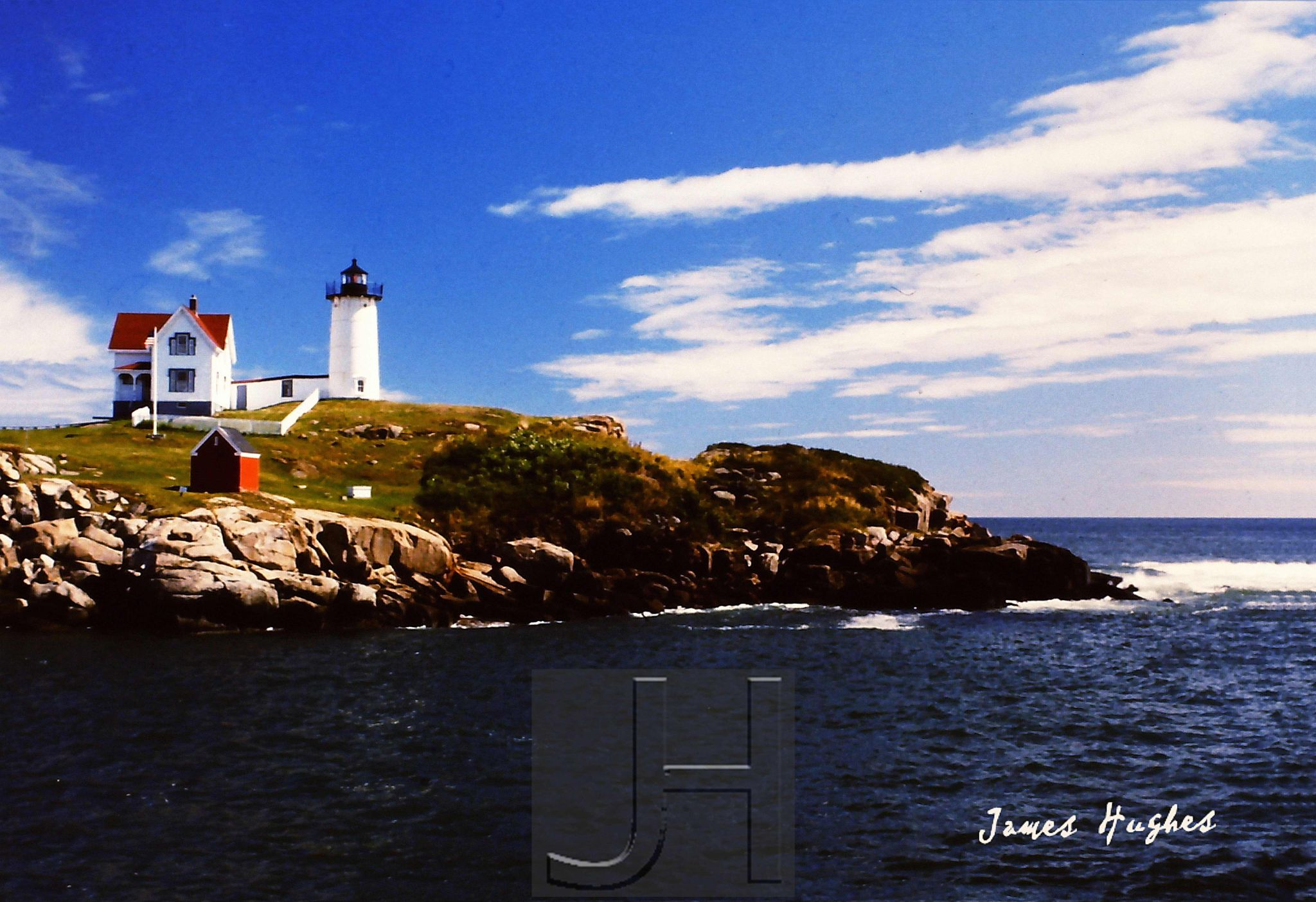 Nubble Light, Wells, ME by James Hughes Photography